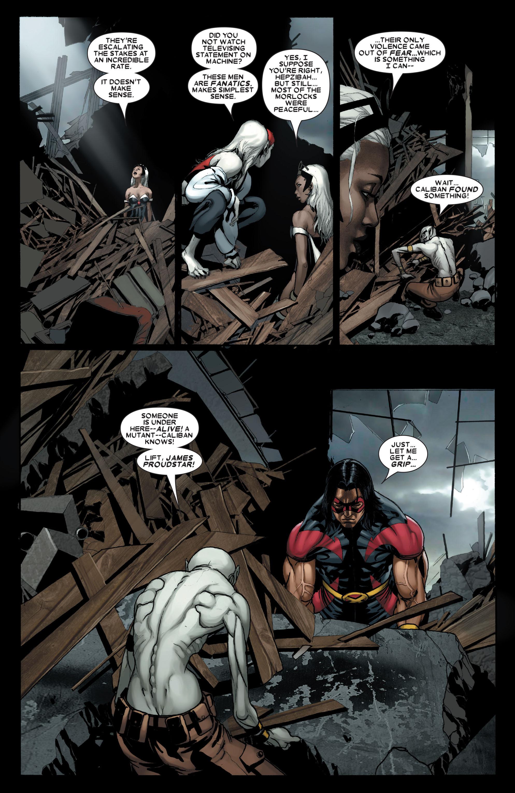 Read online Uncanny X-Men (1963) comic -  Issue #489 - 19