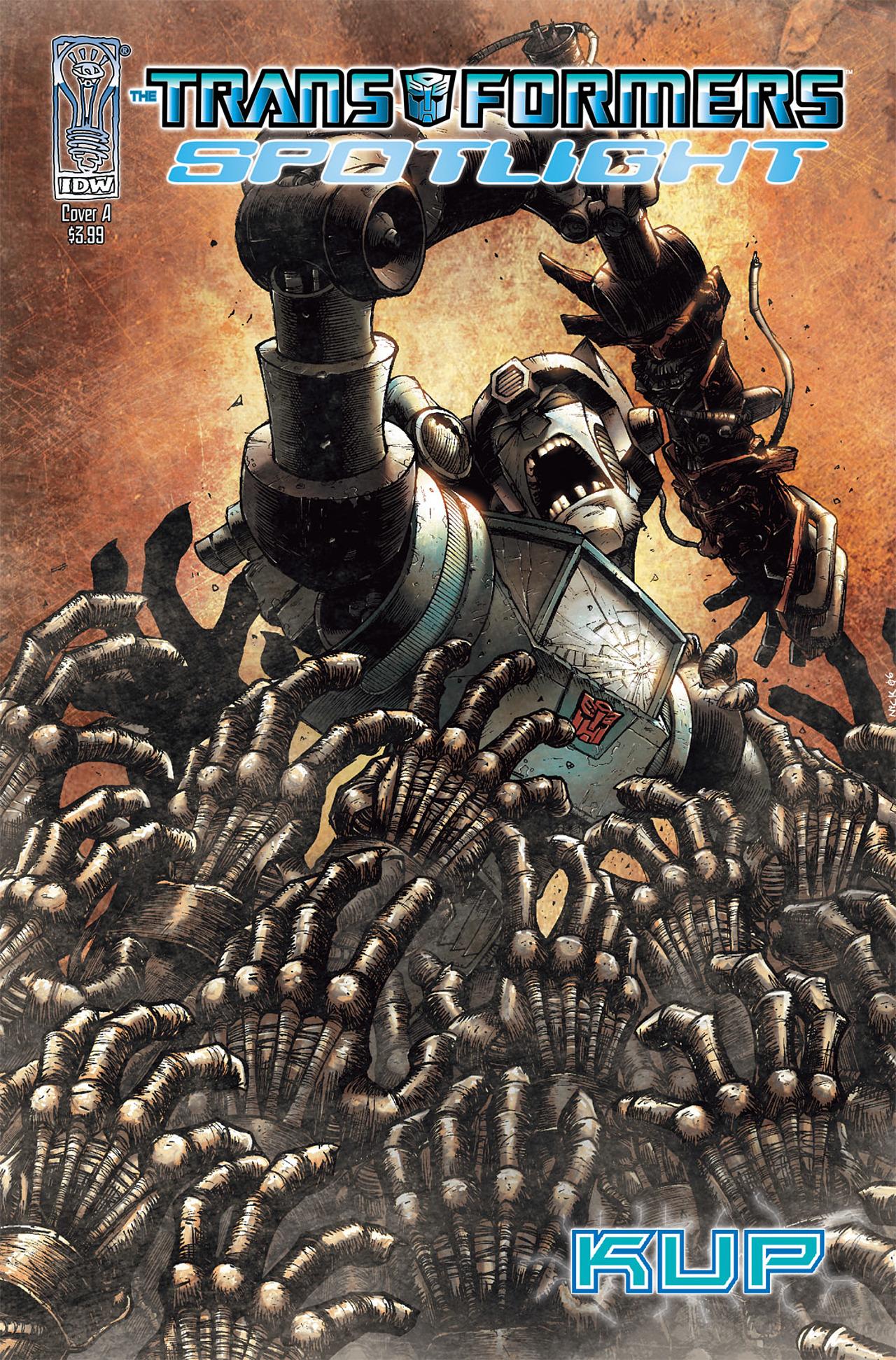 Read online Transformers Spotlight: Kup comic -  Issue # Full - 1