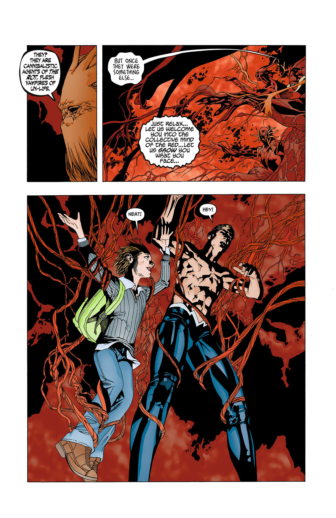 Read online Animal Man (2011) comic -  Issue #4 - 11