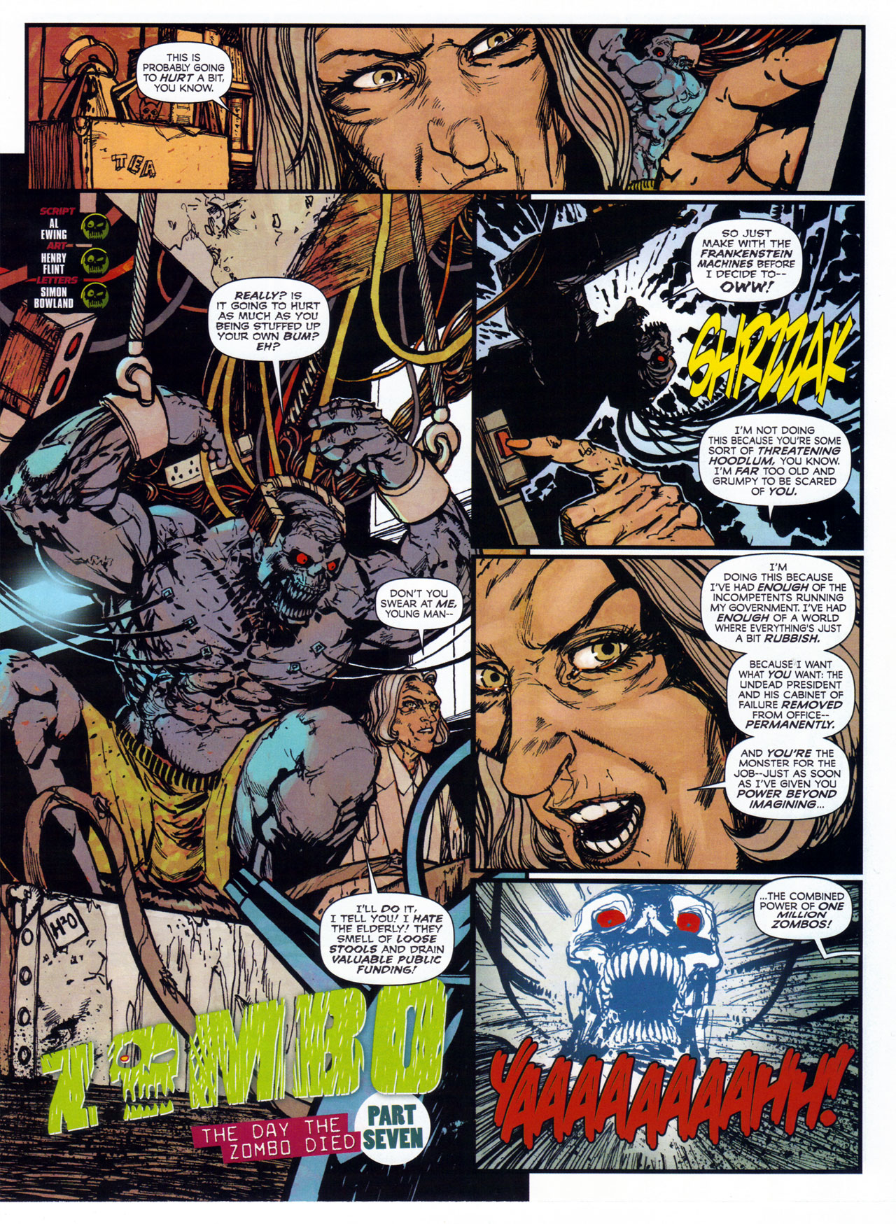 Read online 2000 AD comic -  Issue #1746 - 121