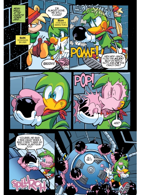 Read online Sonic Comics Spectacular: Speed of Sound comic -  Issue # Full - 66