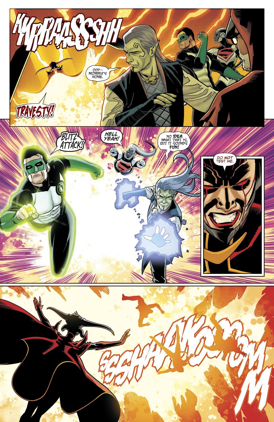 Read online Titans (2016) comic -  Issue #35 - 20