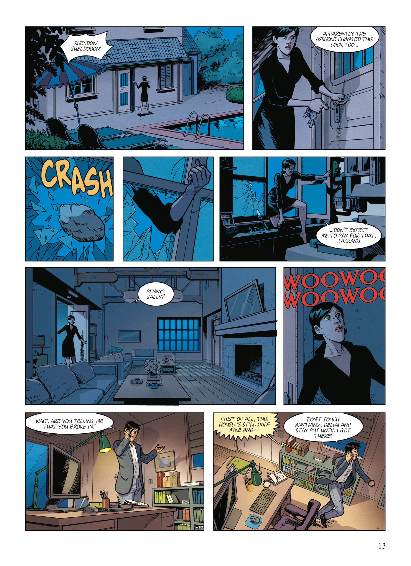 Read online Alter Ego comic -  Issue #9 - 15