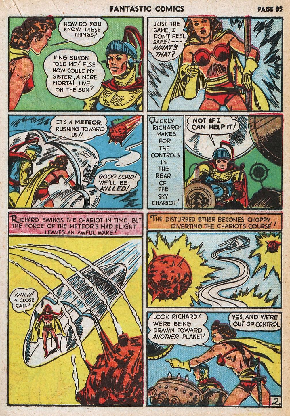 Read online Fantastic Comics comic -  Issue #20 - 35