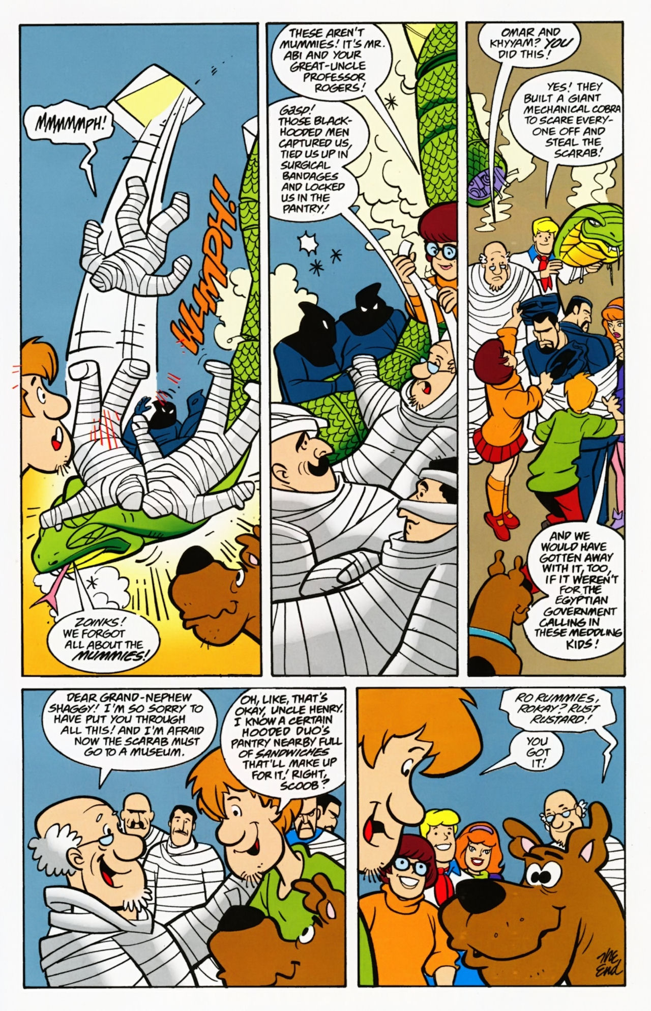 Read online Scooby-Doo: Where Are You? comic -  Issue #7 - 33