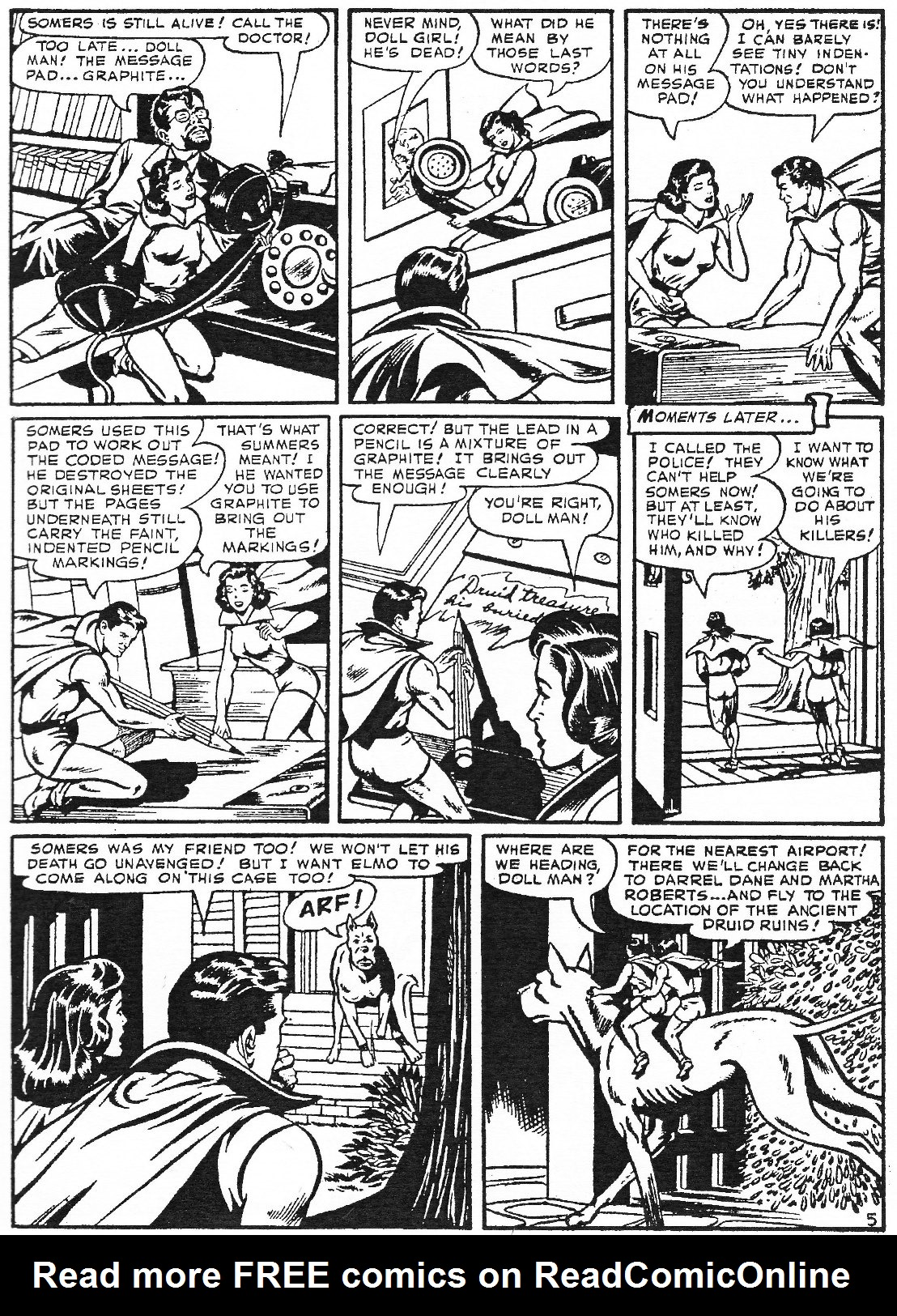 Read online Men of Mystery Comics comic -  Issue #74 - 47