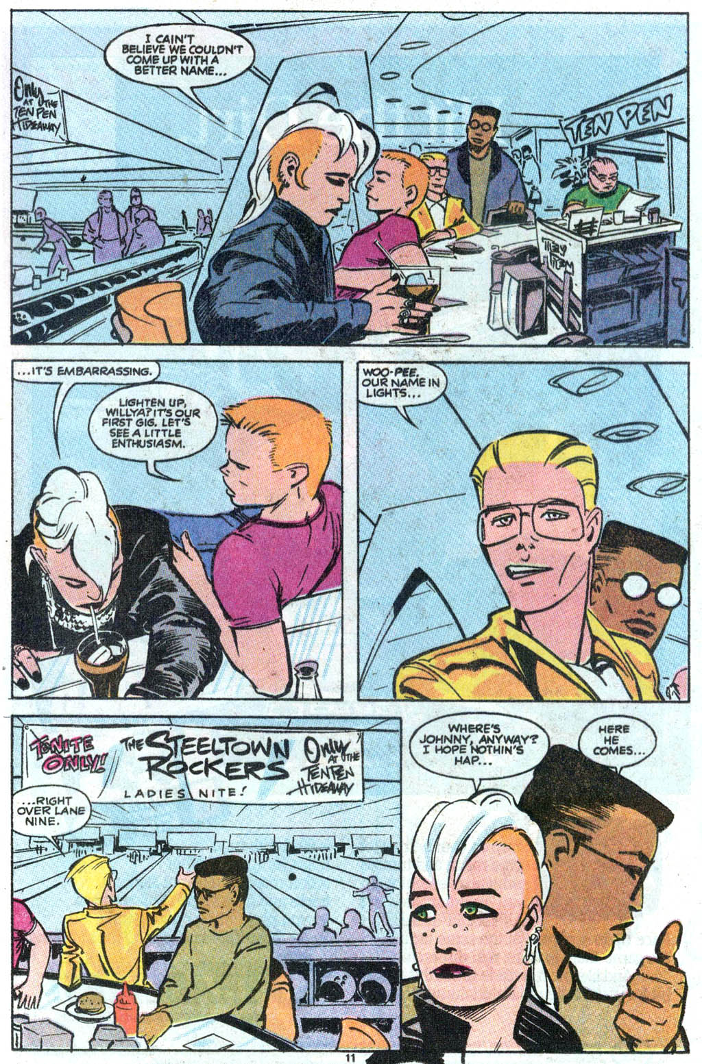 Steeltown Rockers issue 4 - Page 9