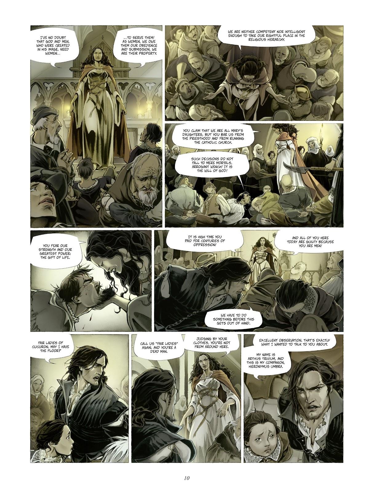 Read online Arthus Trivium comic -  Issue #4 - 12