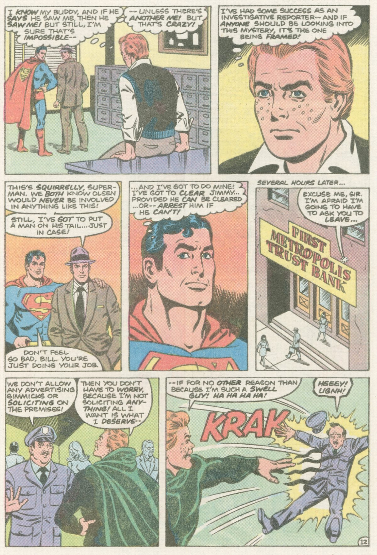 Read online Action Comics (1938) comic -  Issue #570 - 13