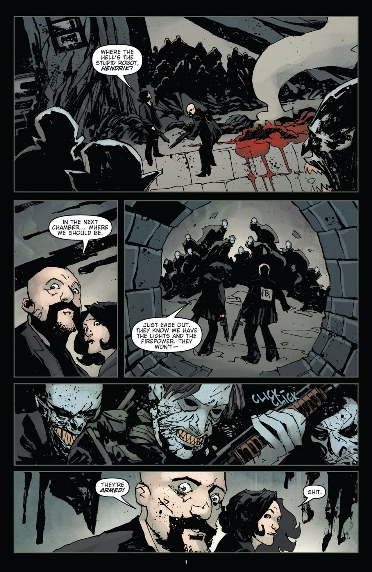 Read online 30 Days of Night (2011) comic -  Issue #11 - 3