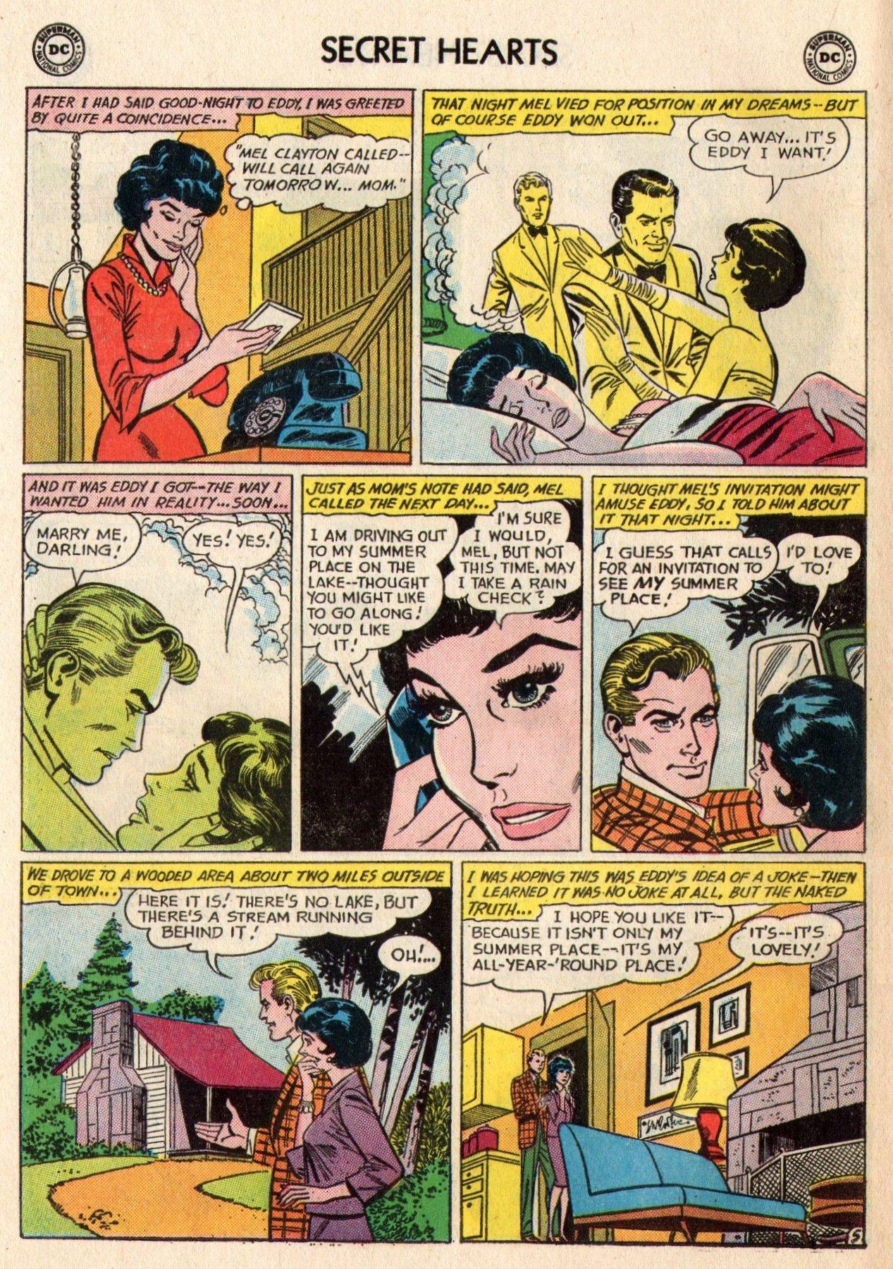 Read online Secret Hearts comic -  Issue #95 - 22