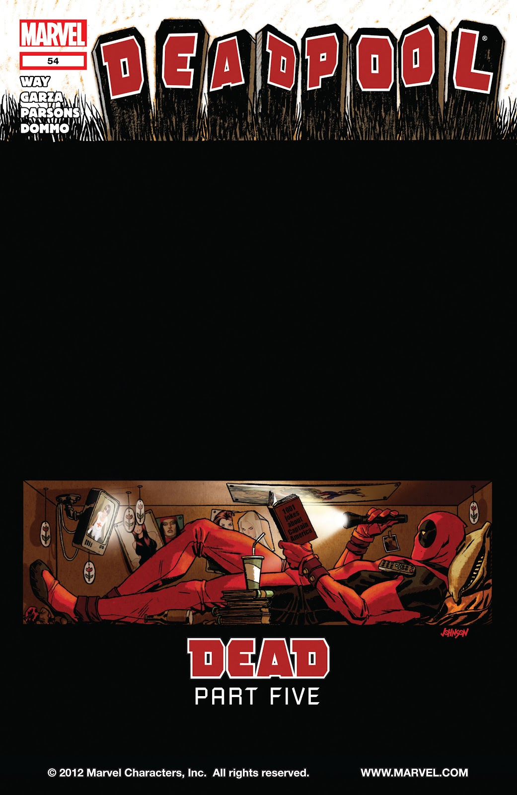 Read online Deadpool (2008) comic -  Issue #54 - 1