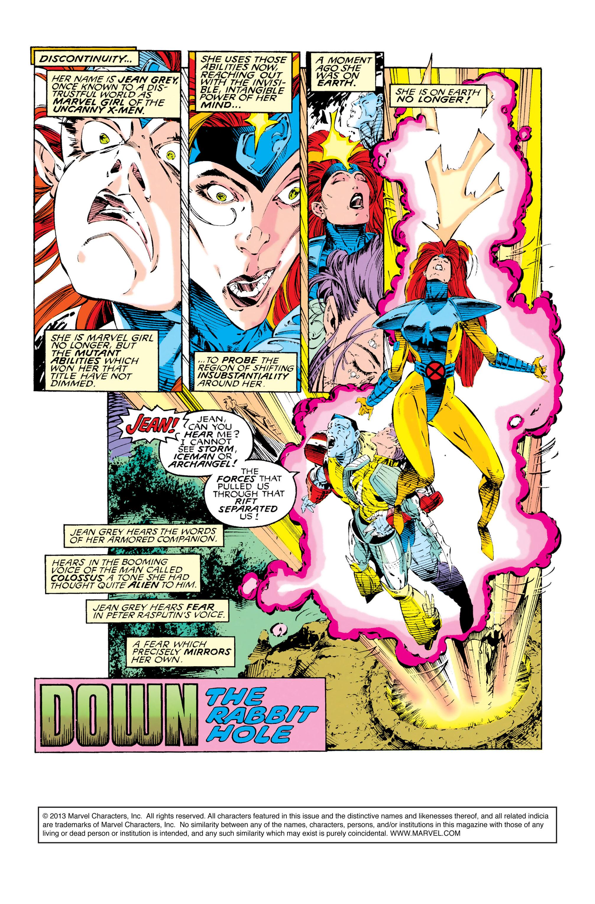 Read online Uncanny X-Men (1963) comic -  Issue #285 - 2