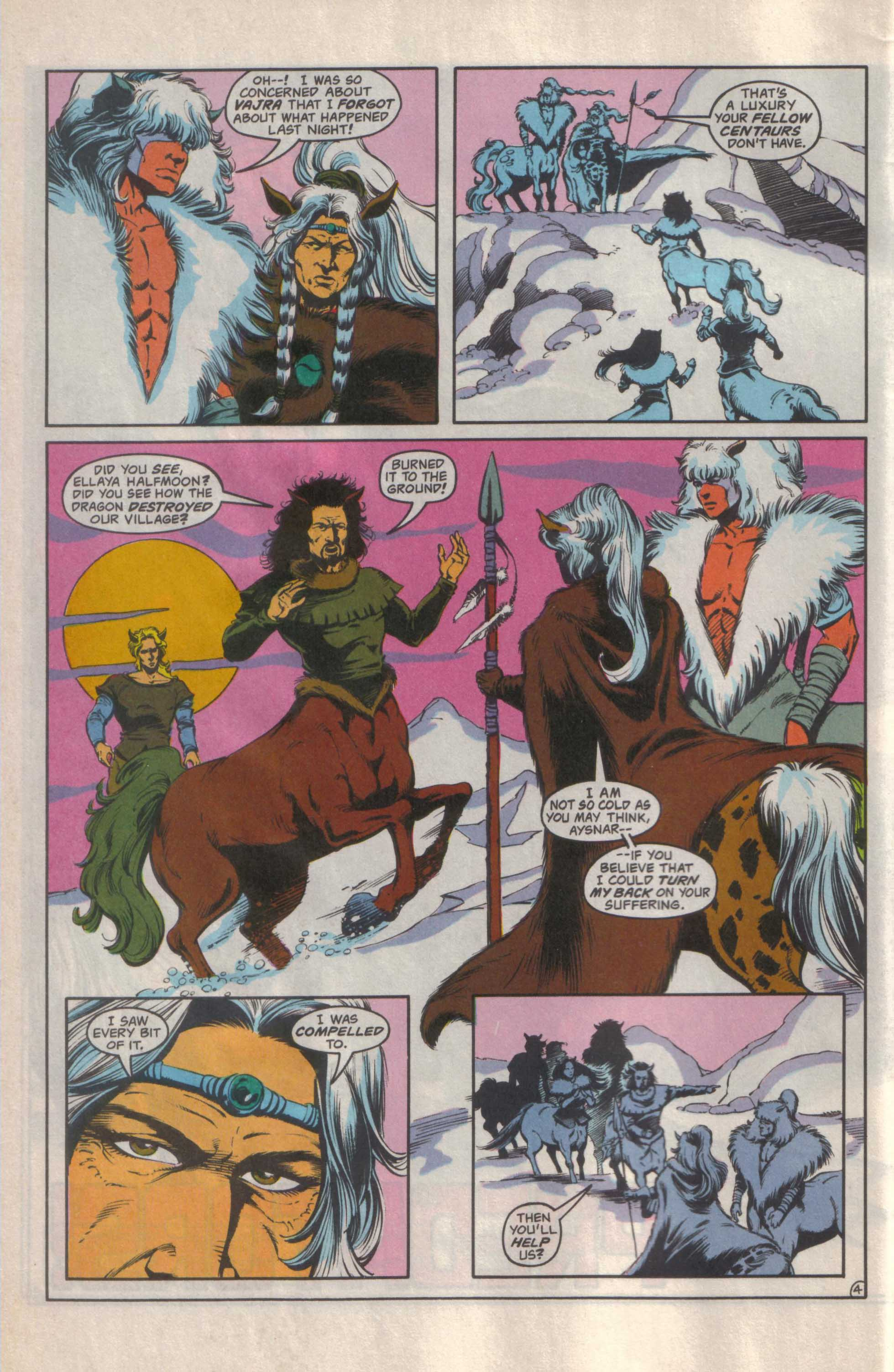 Read online Advanced Dungeons & Dragons comic -  Issue #25 - 5