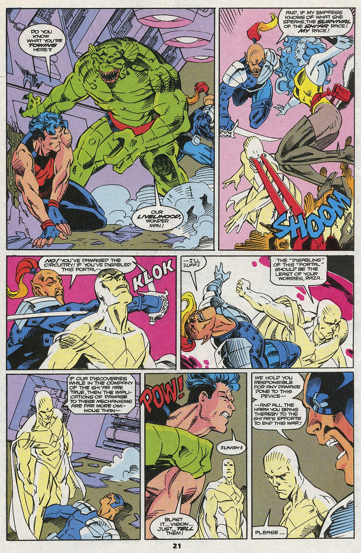 Read online Wonder Man (1991) comic -  Issue #8 - 14