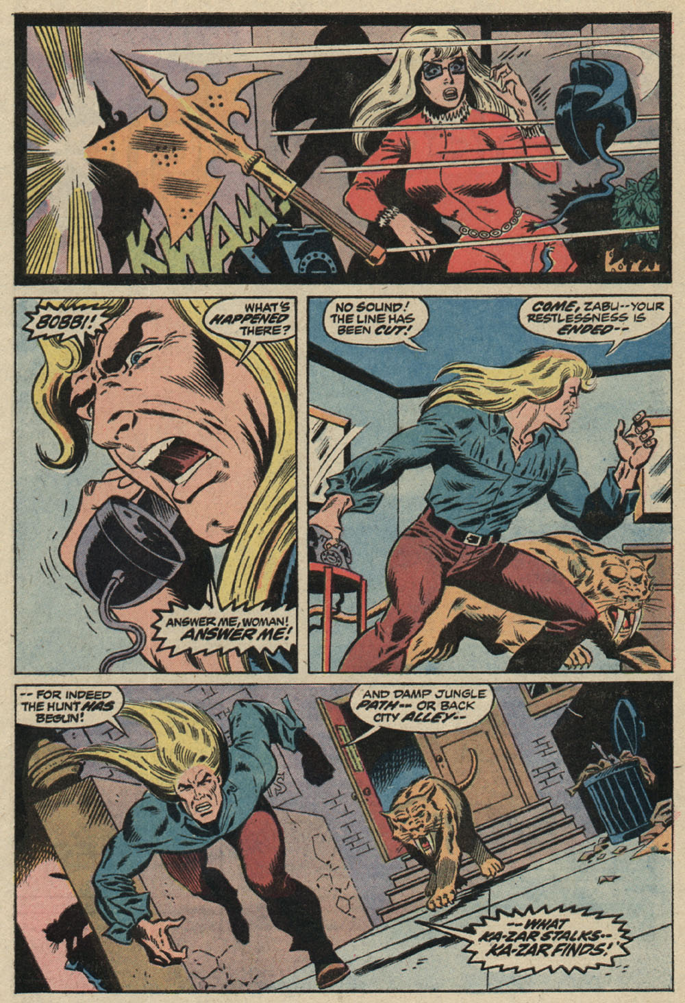 Read online Astonishing Tales (1970) comic -  Issue #19 - 4