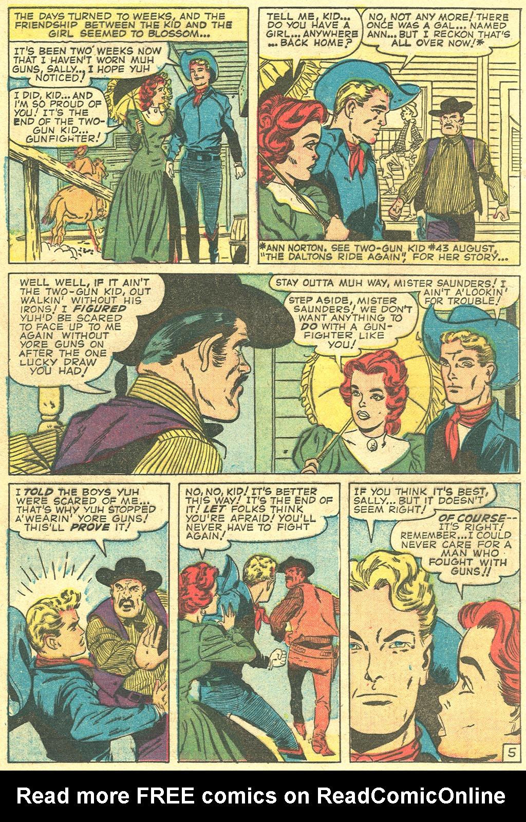 Read online Two-Gun Kid comic -  Issue #47 - 16
