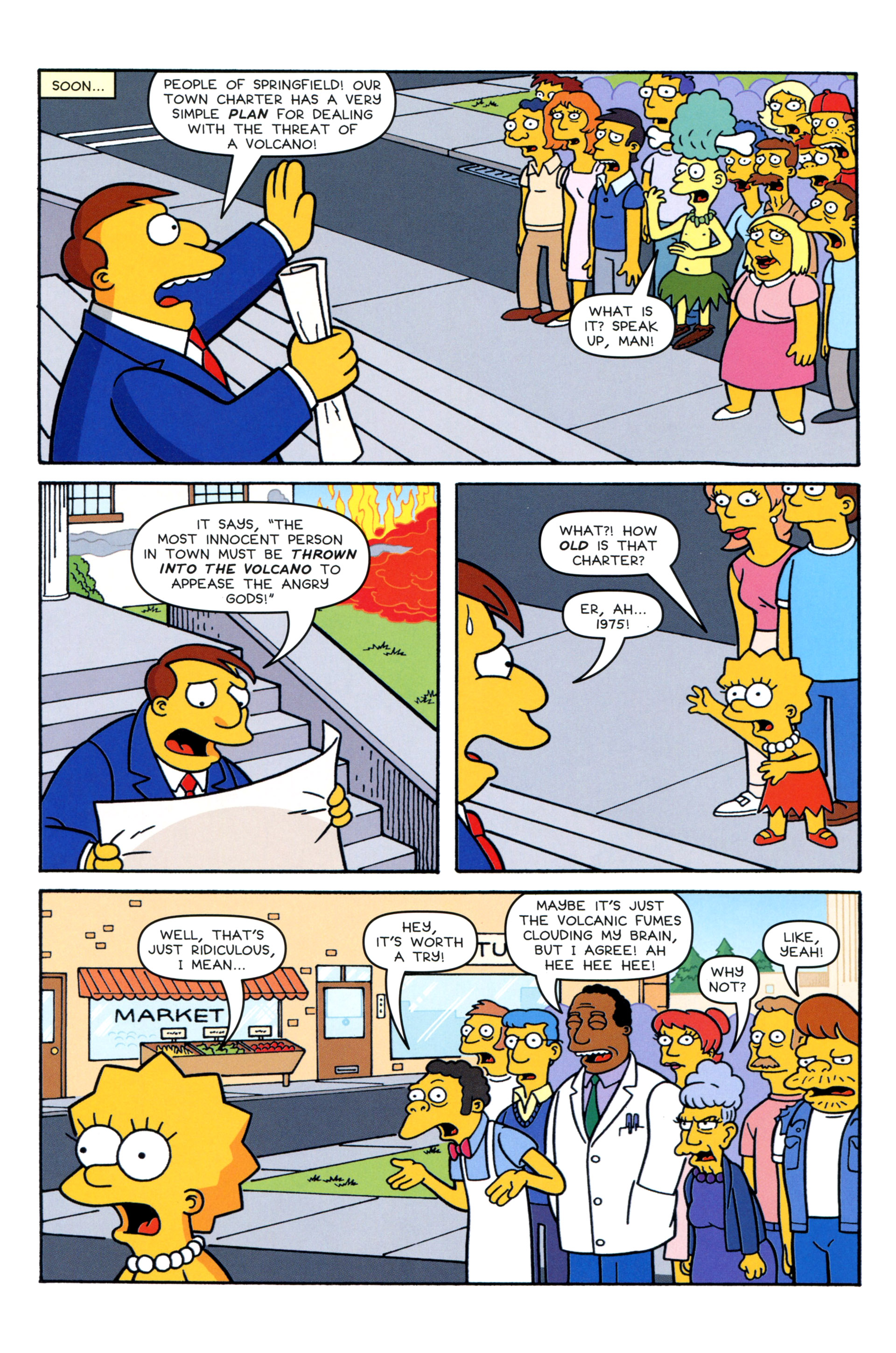 Read online Simpsons Comics comic -  Issue #206 - 12