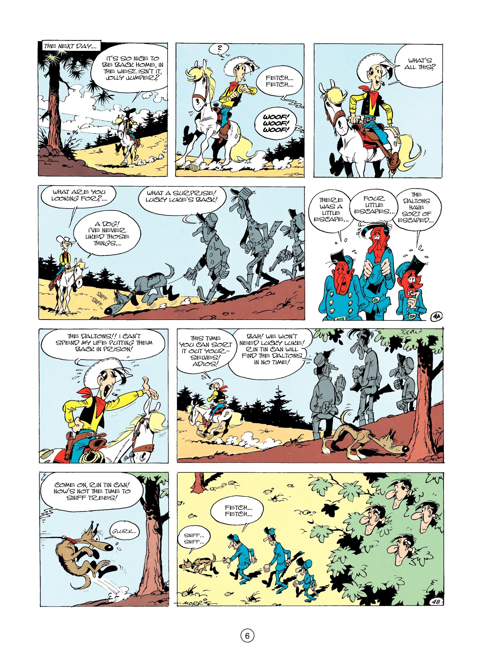 Read online A Lucky Luke Adventure comic -  Issue #19 - 6