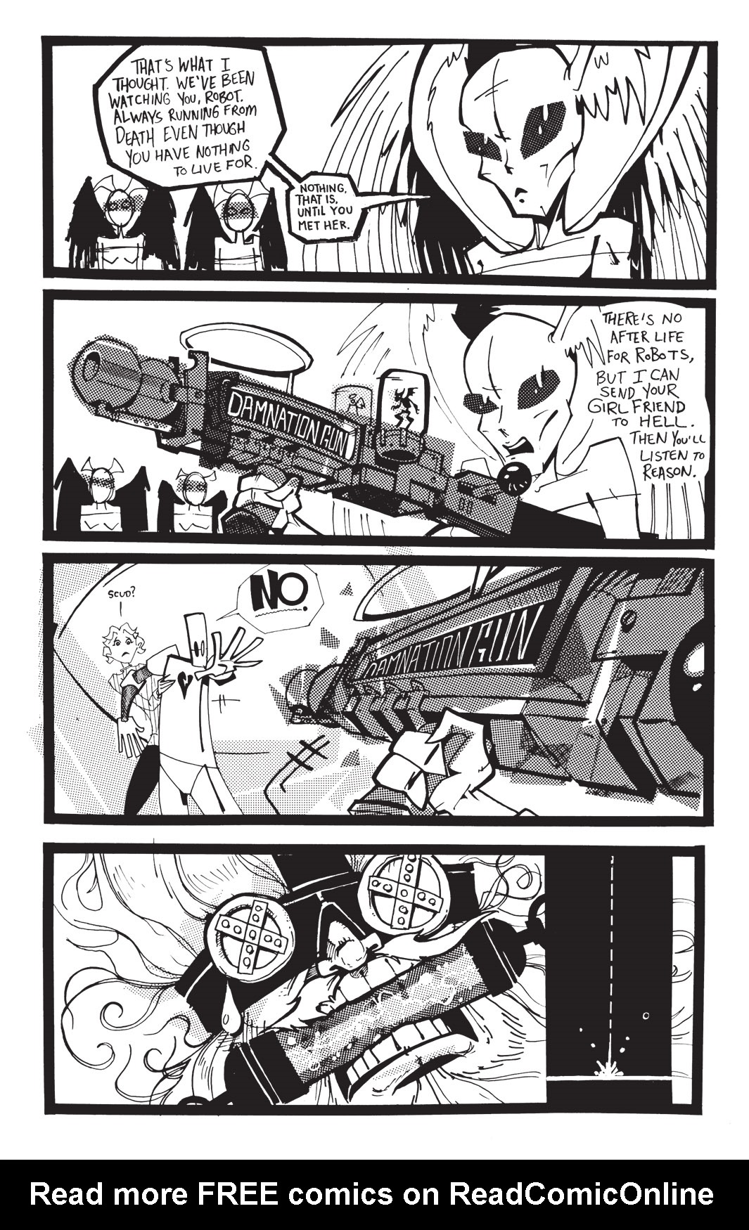 Read online Scud: The Disposable Assassin: The Whole Shebang comic -  Issue # TPB (Part 4) - 10