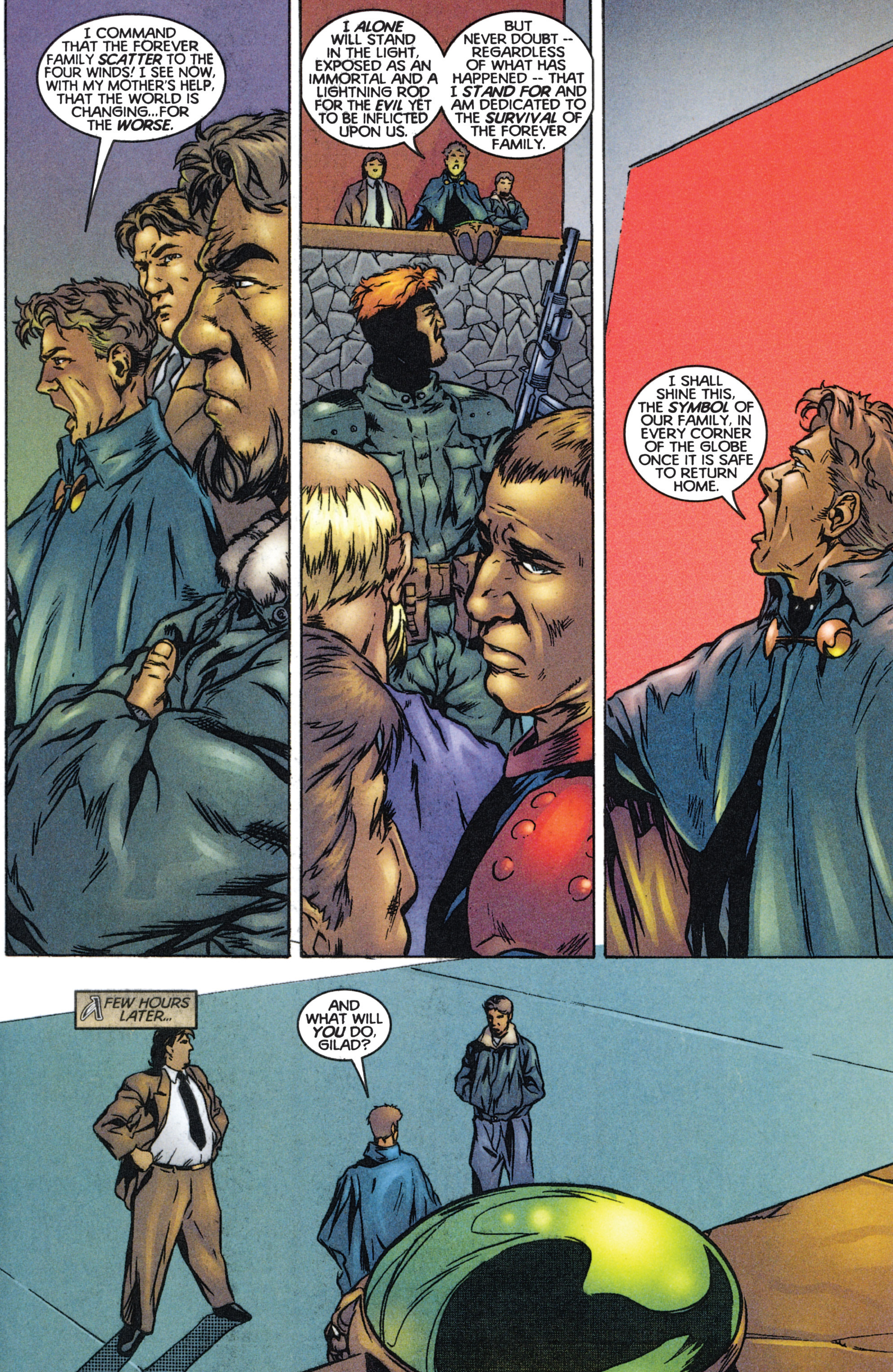 Read online Eternal Warriors comic -  Issue # Issue The Immortal Enemy - 35