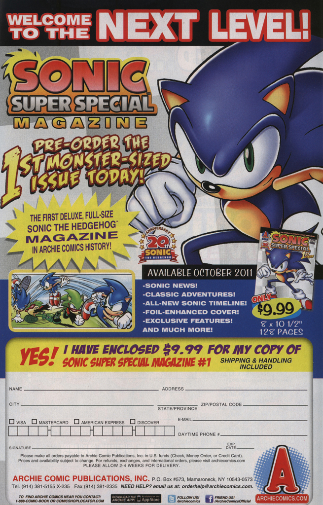 Read online Sonic Universe comic -  Issue #33 - 7