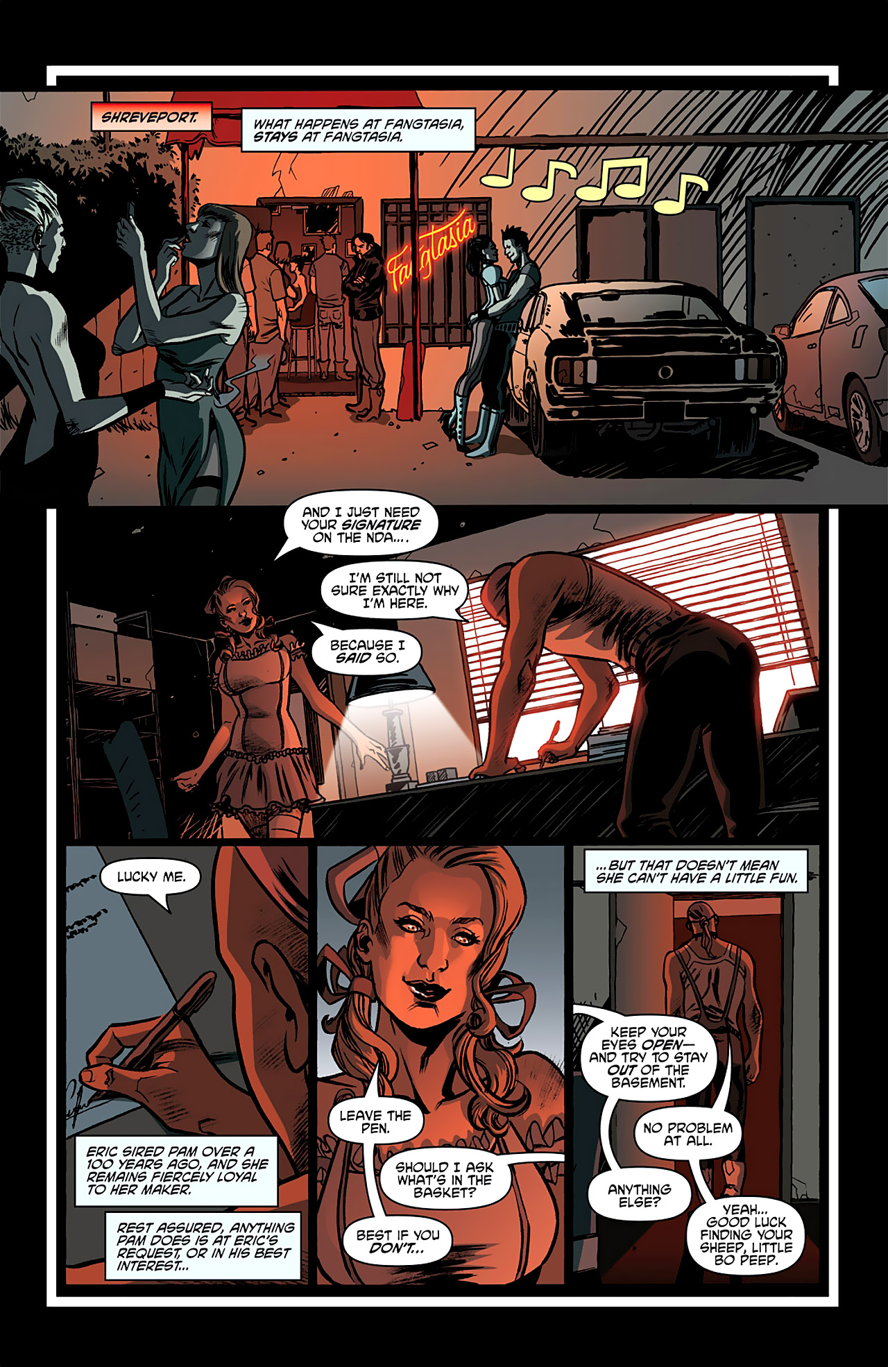 Read online True Blood: French Quarter comic -  Issue #2 - 21