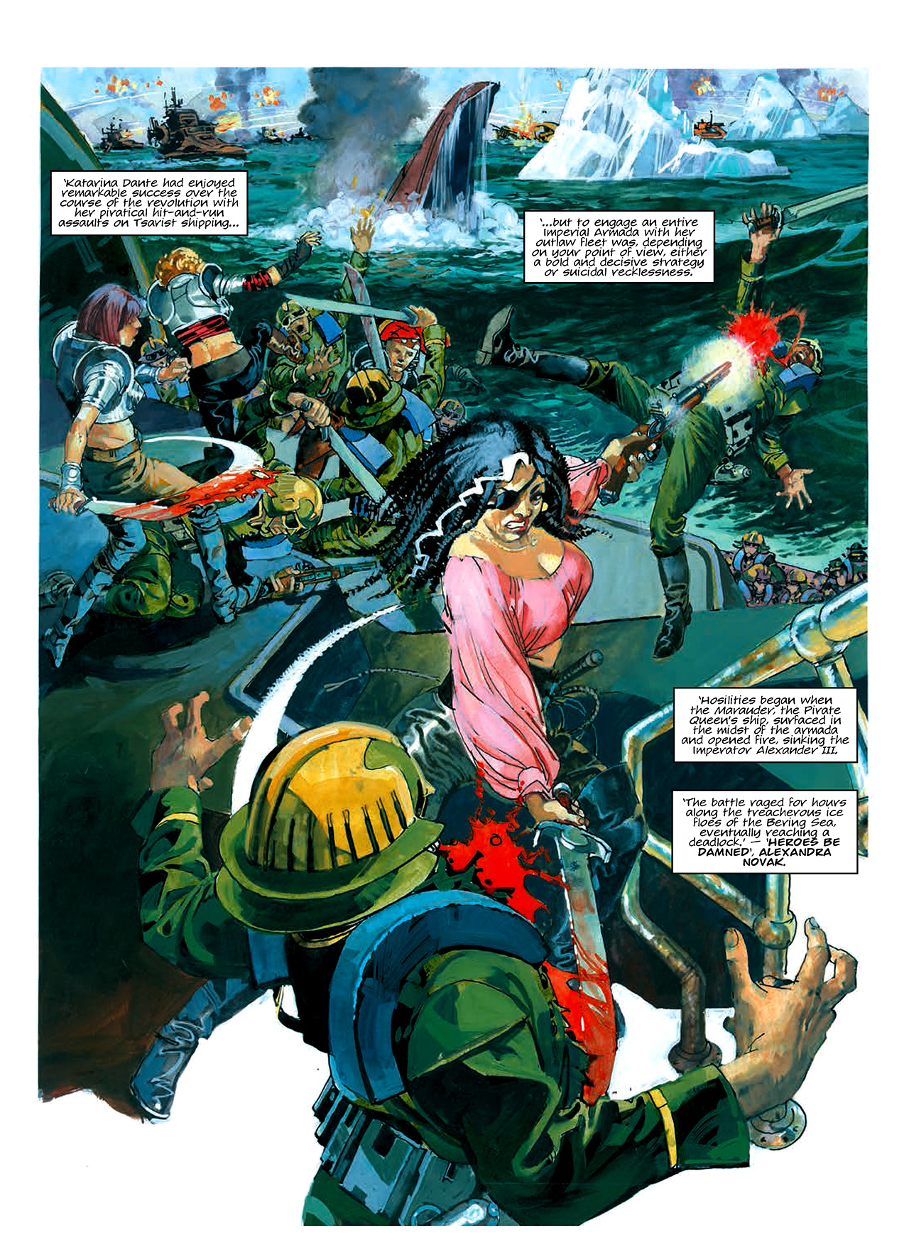 Read online Nikolai Dante comic -  Issue # TPB 10 - 20