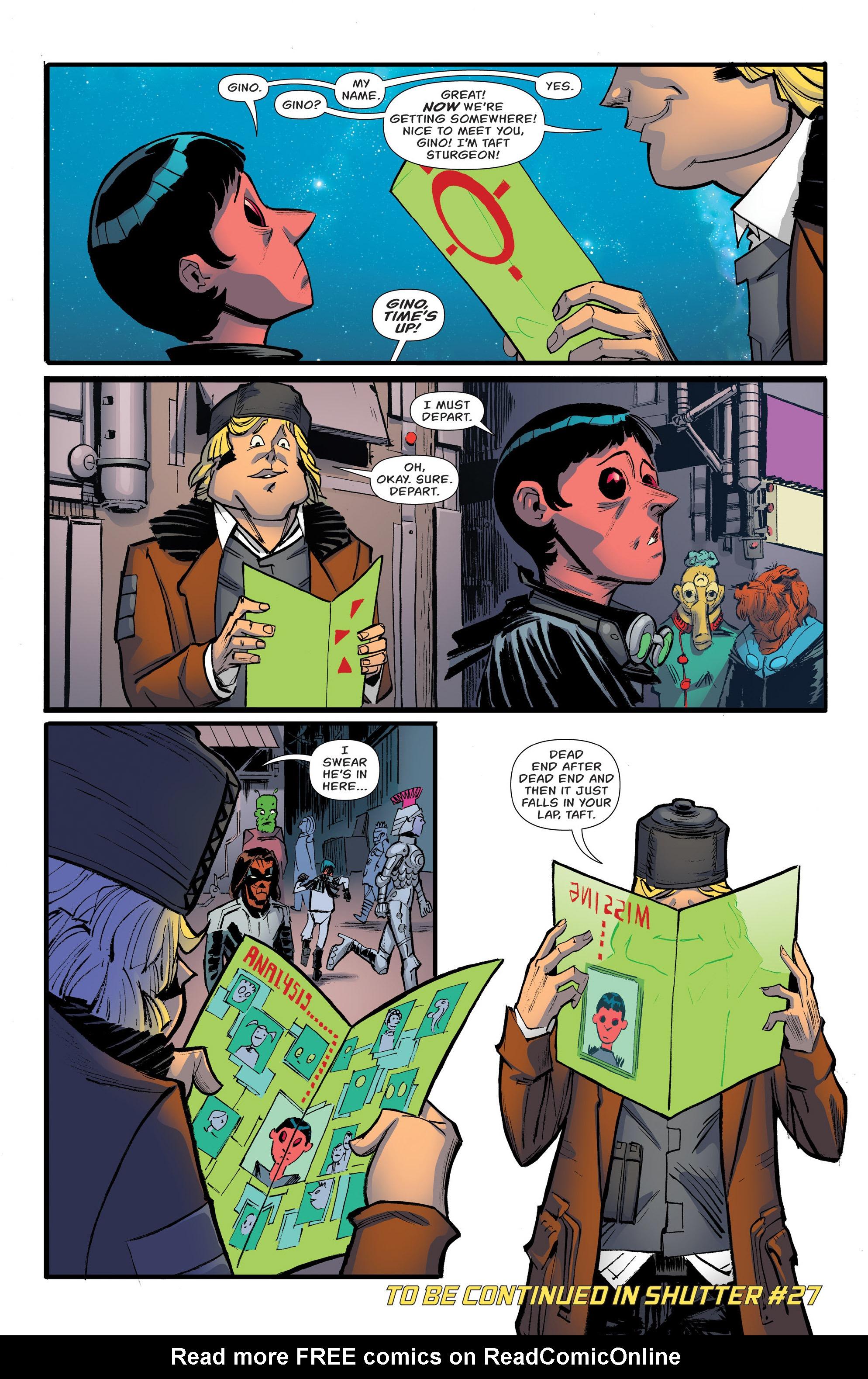 Read online Shutter comic -  Issue #26 - 30