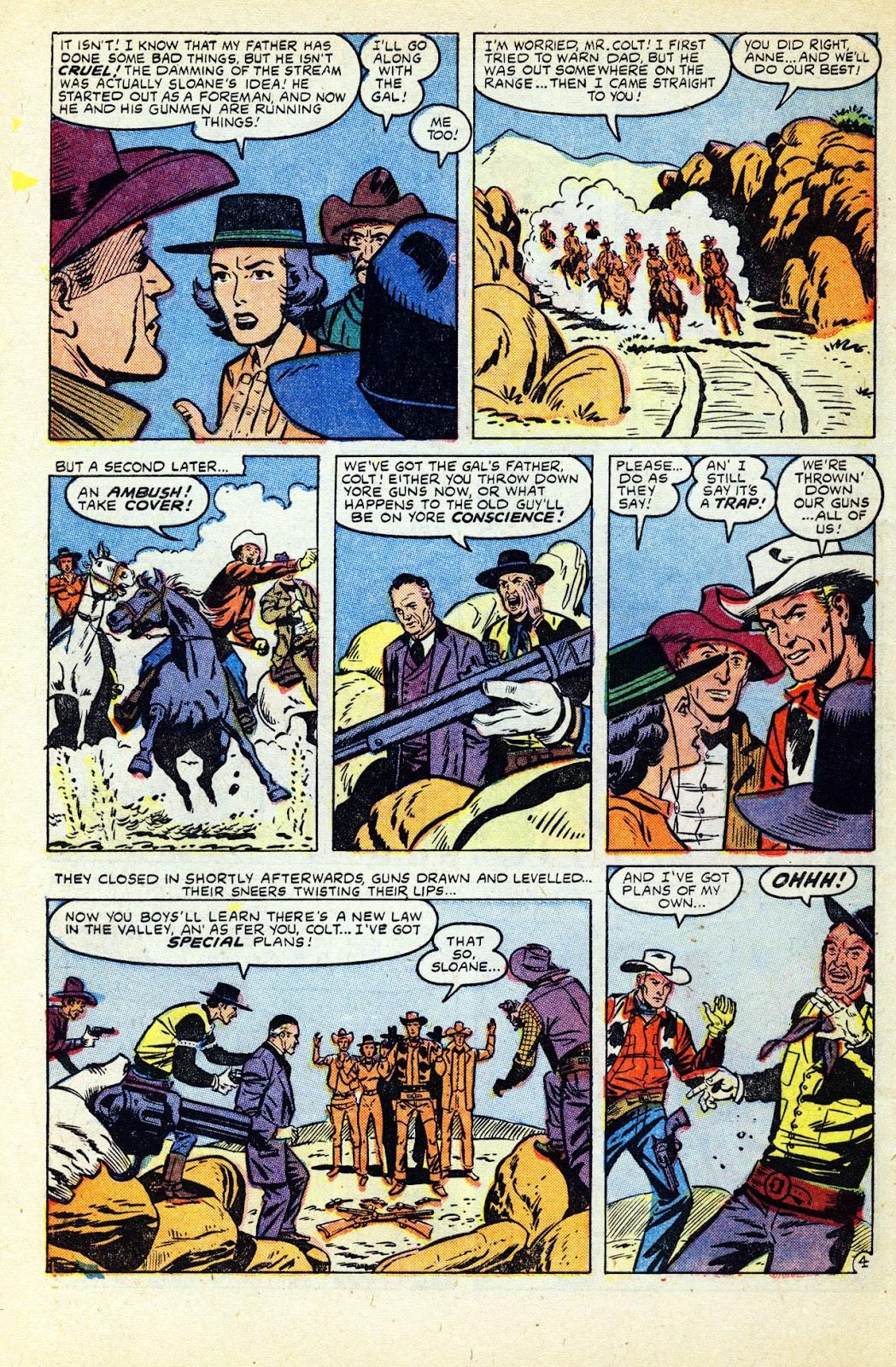 Gunsmoke Western issue 32 - Page 6