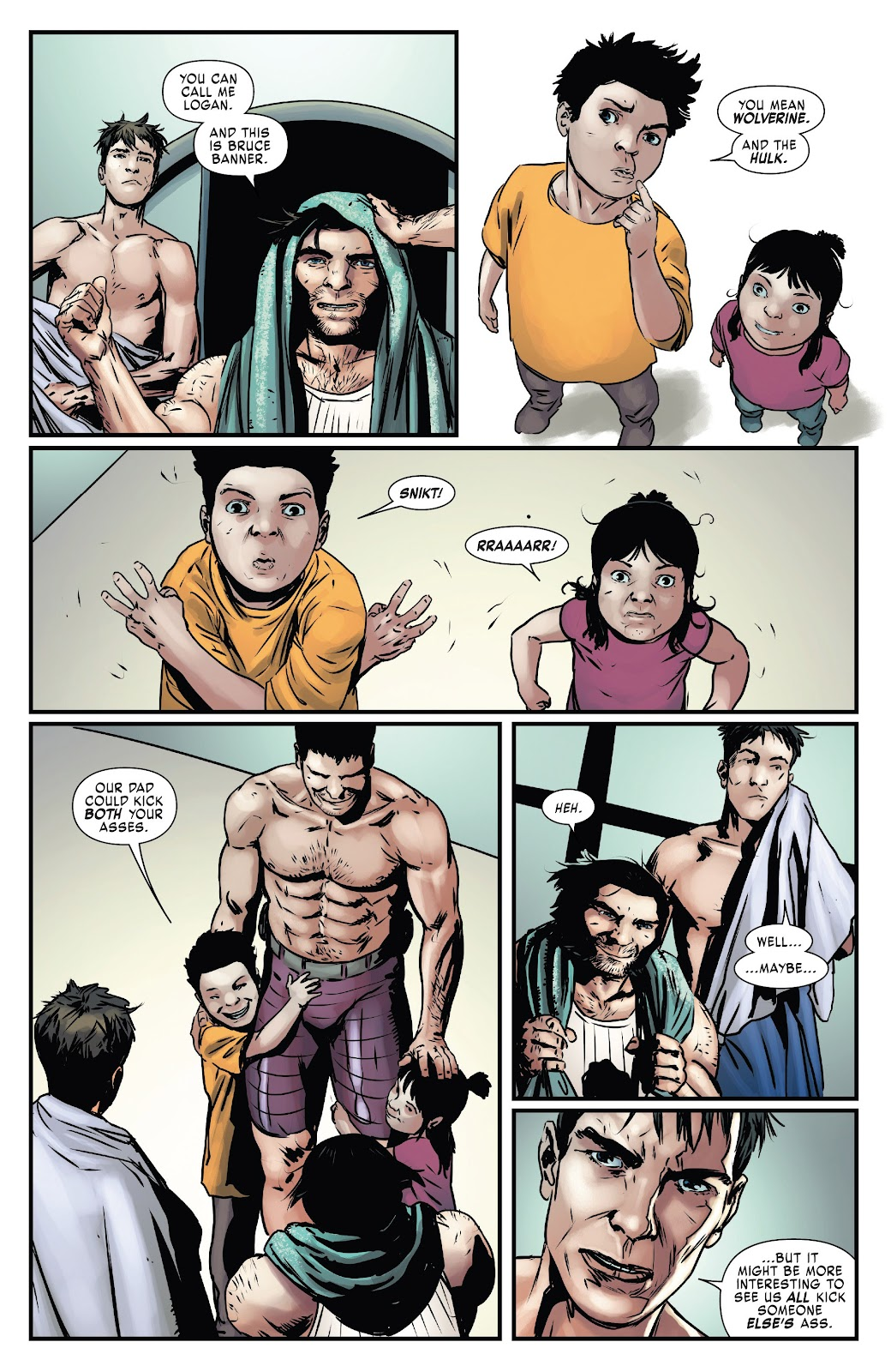 Read online Hulkverines comic -  Issue #2 - 29