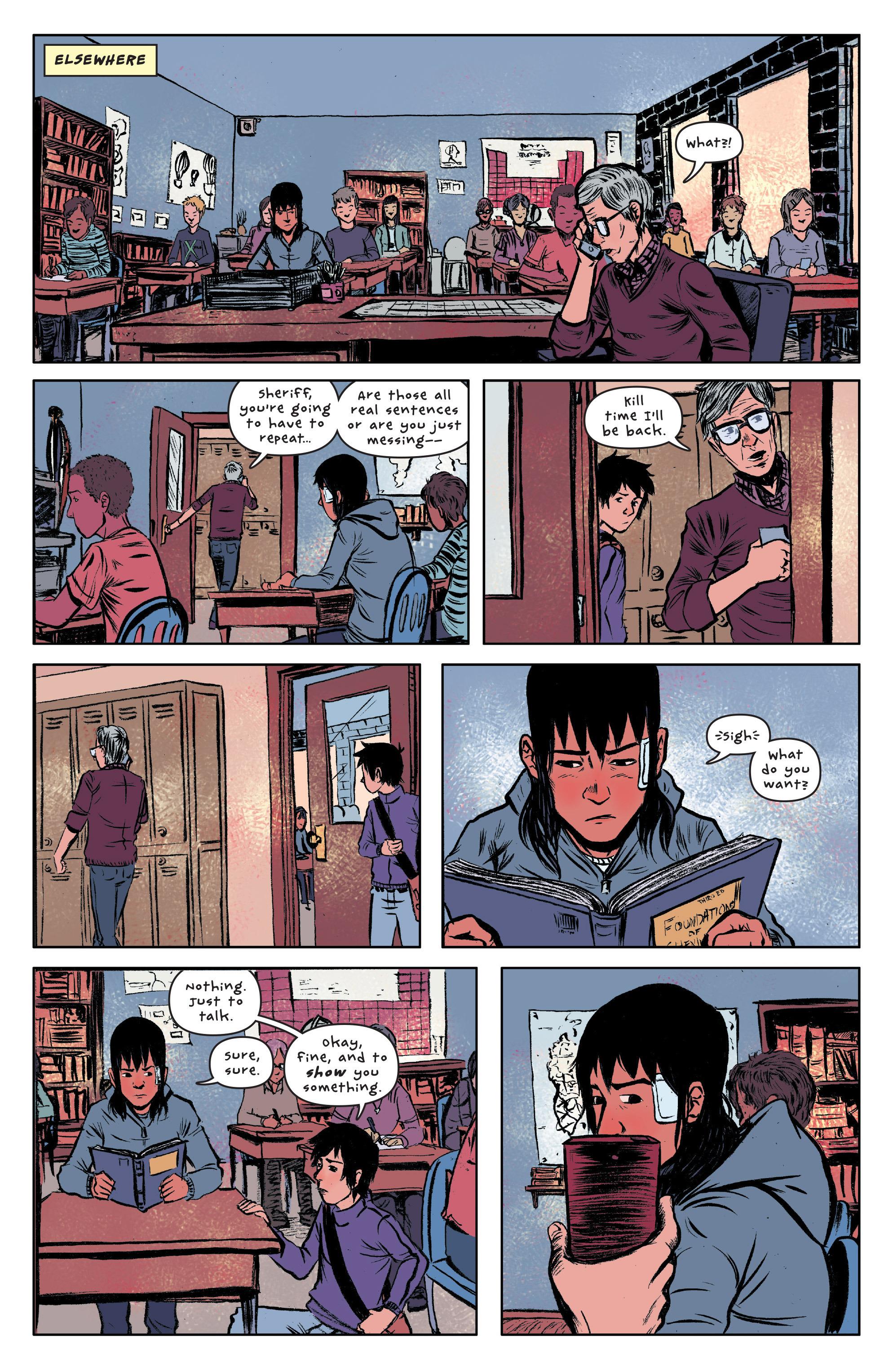 Read online UFOlogy comic -  Issue #3 - 13