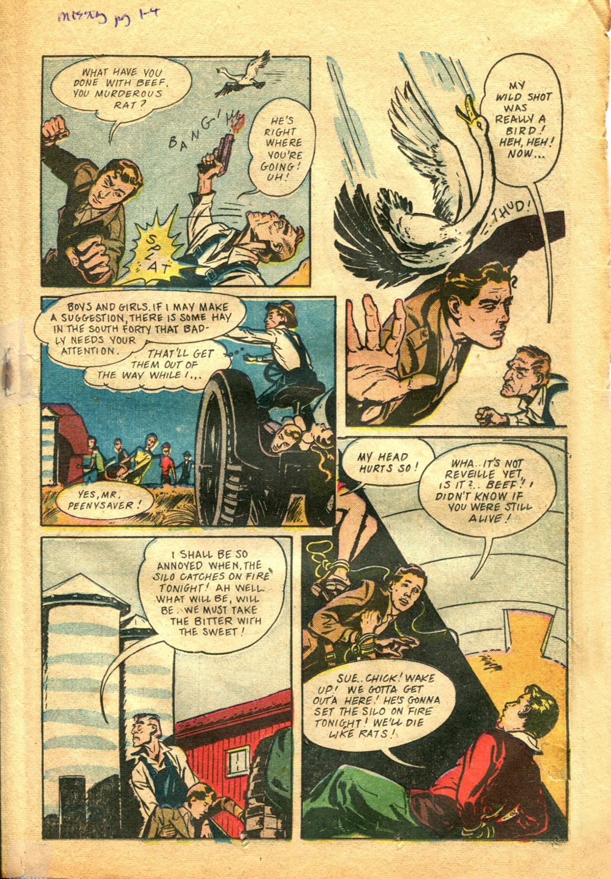 Read online Shadow Comics comic -  Issue #48 - 25