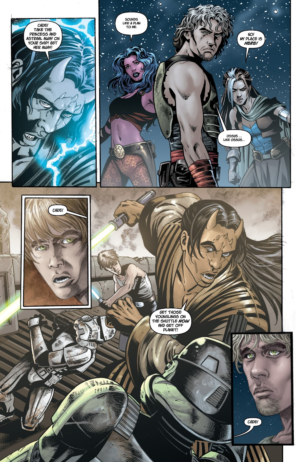 Read online Star Wars Legends: Legacy - Epic Collection comic -  Issue # TPB 1 (Part 1) - 93