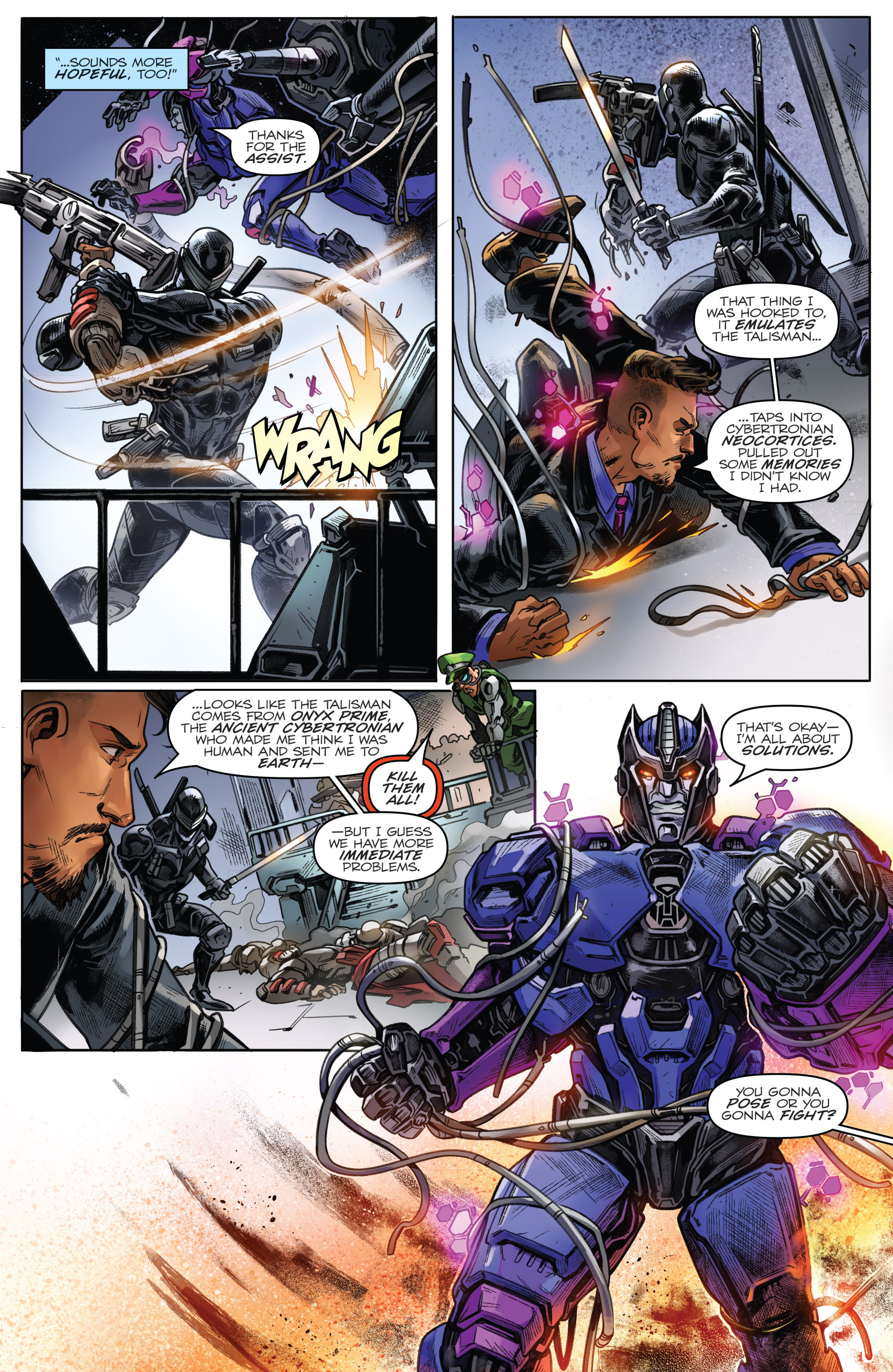 Read online Revolutionaries comic -  Issue #4 - 18