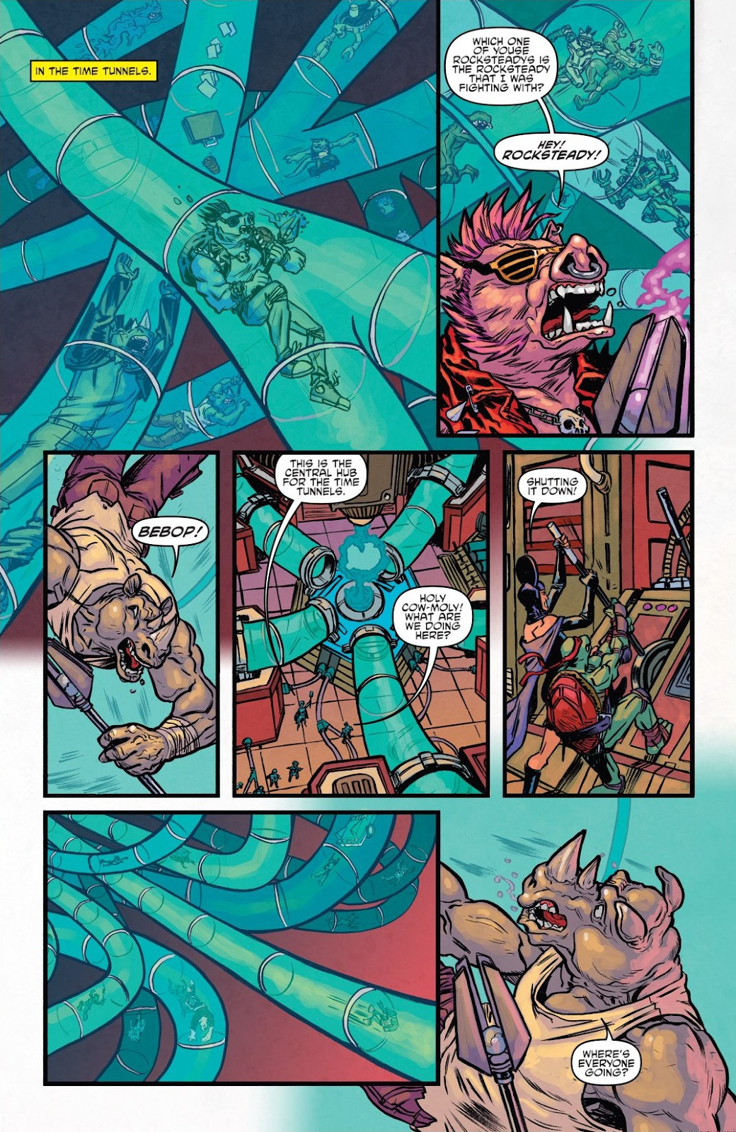 Read online Teenage Mutant Ninja Turtles: The IDW Collection comic -  Issue # TPB 8 (Part 1) - 96