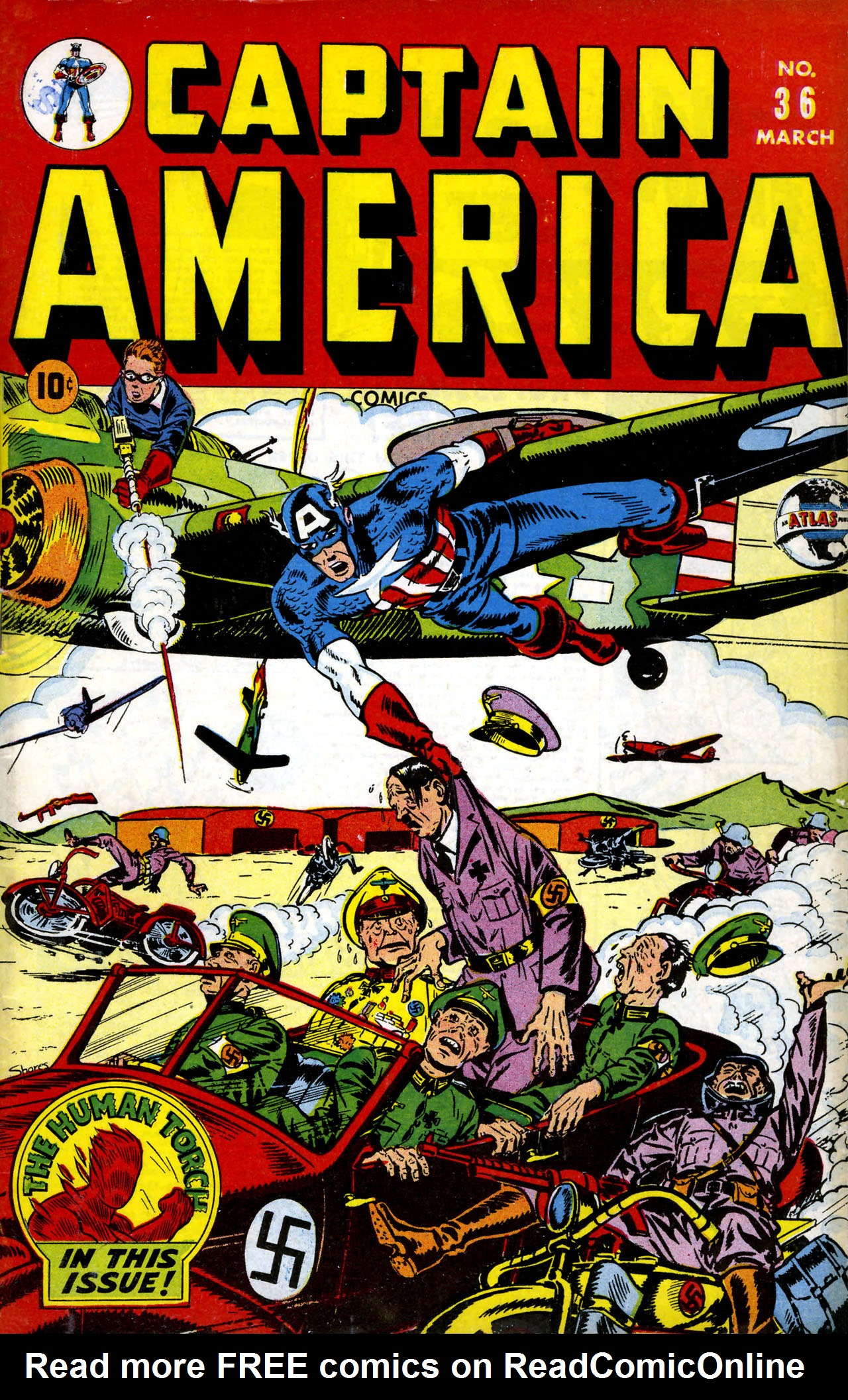 Captain America Comics 36 Page 1