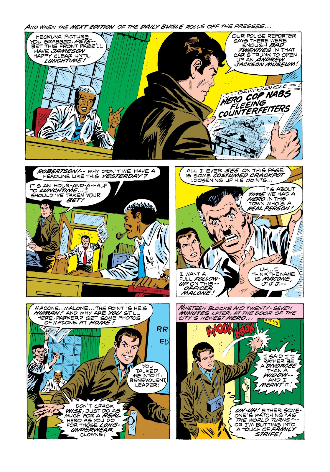 Read online Marvel Masterworks: The Spectacular Spider-Man comic -  Issue # TPB 2 (Part 1) - 13