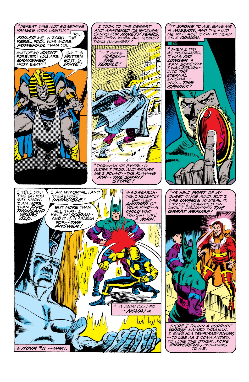 Read online Marvel Masterworks: The Inhumans comic -  Issue # TPB 2 (Part 3) - 70