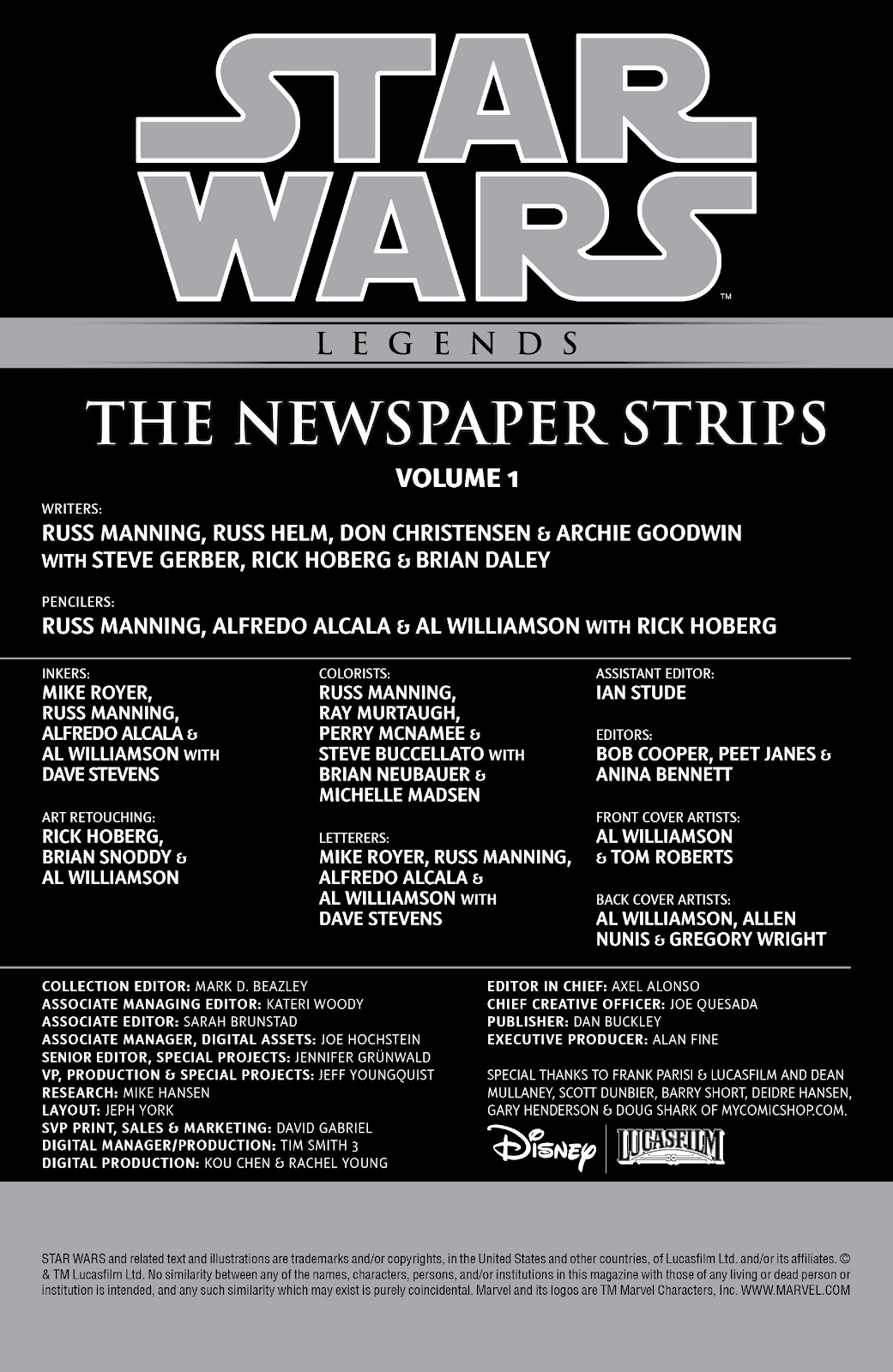 Read online Star Wars Legends: The Newspaper Strips - Epic Collection comic -  Issue # TPB (Part 1) - 4