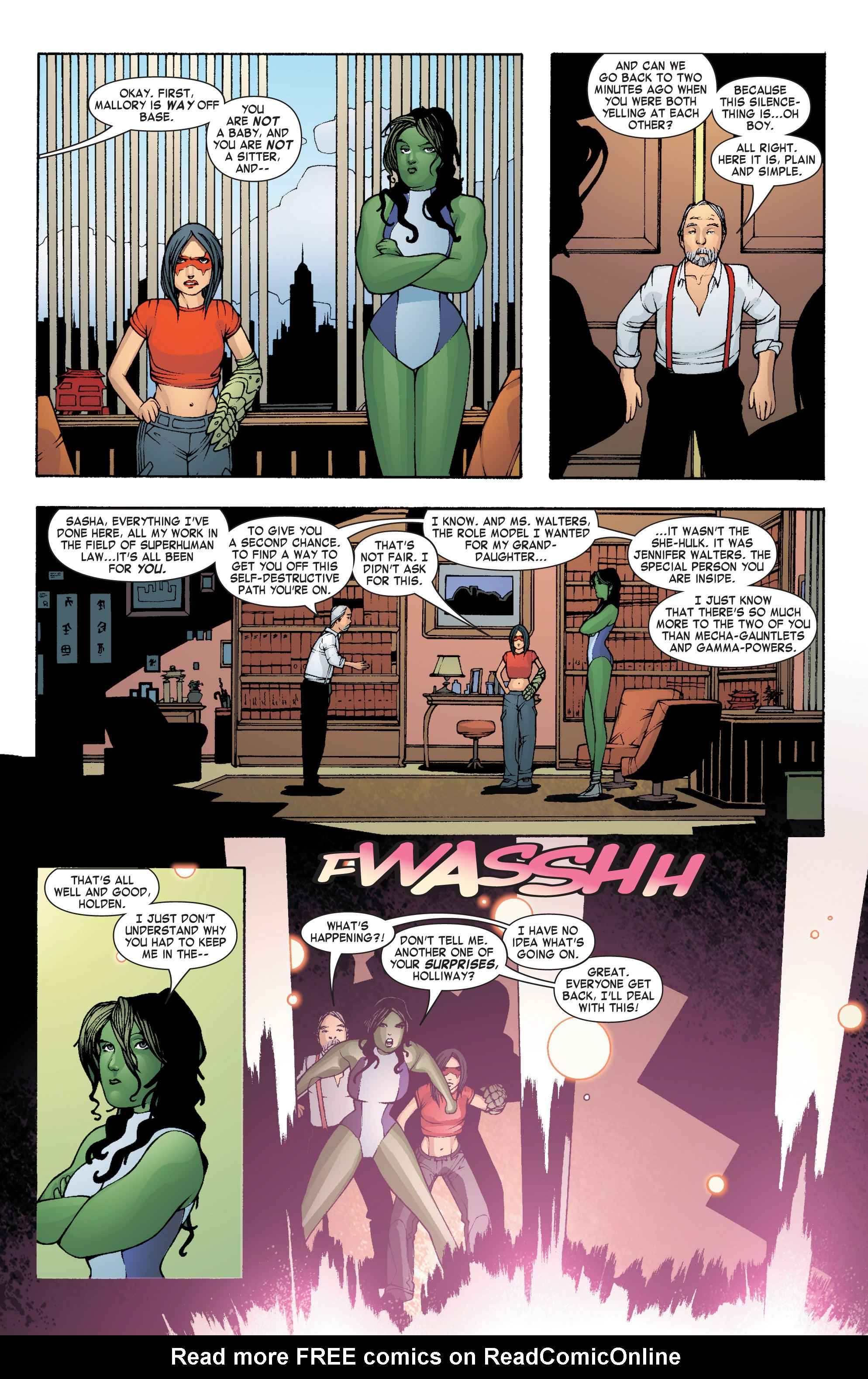 Read online She-Hulk (2004) comic -  Issue #7 - 7