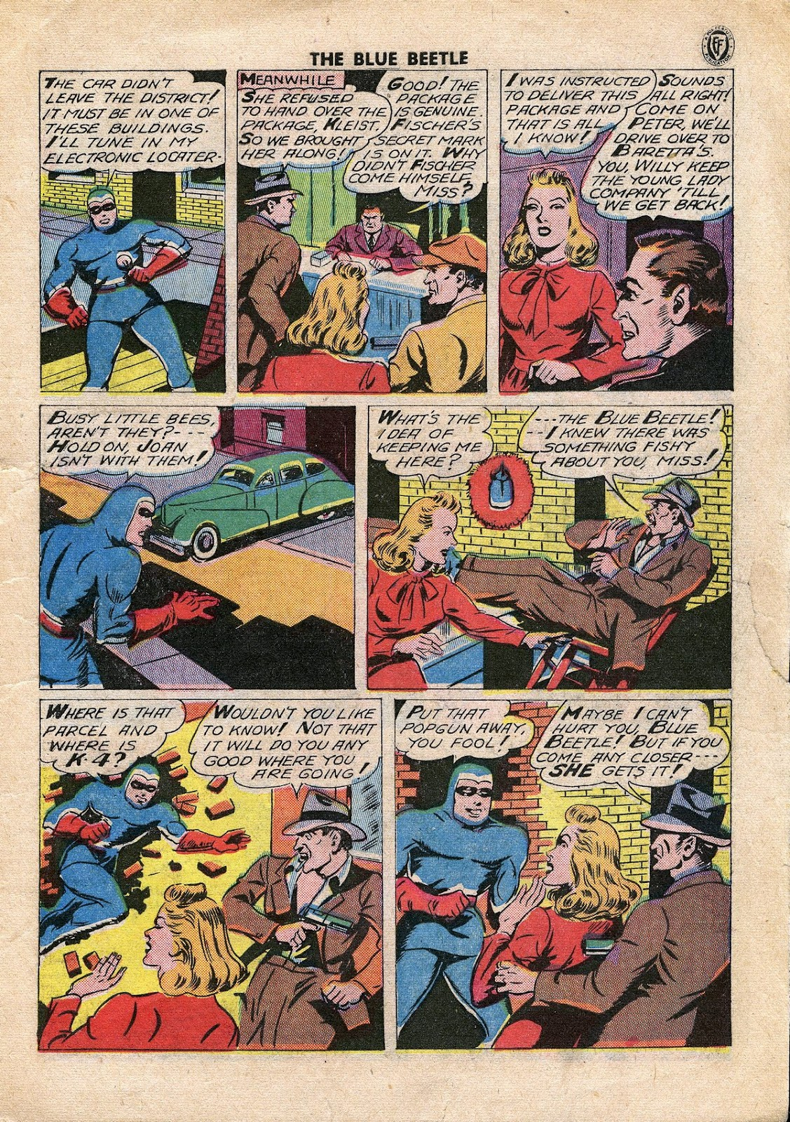 The Blue Beetle issue 34 - Page 4