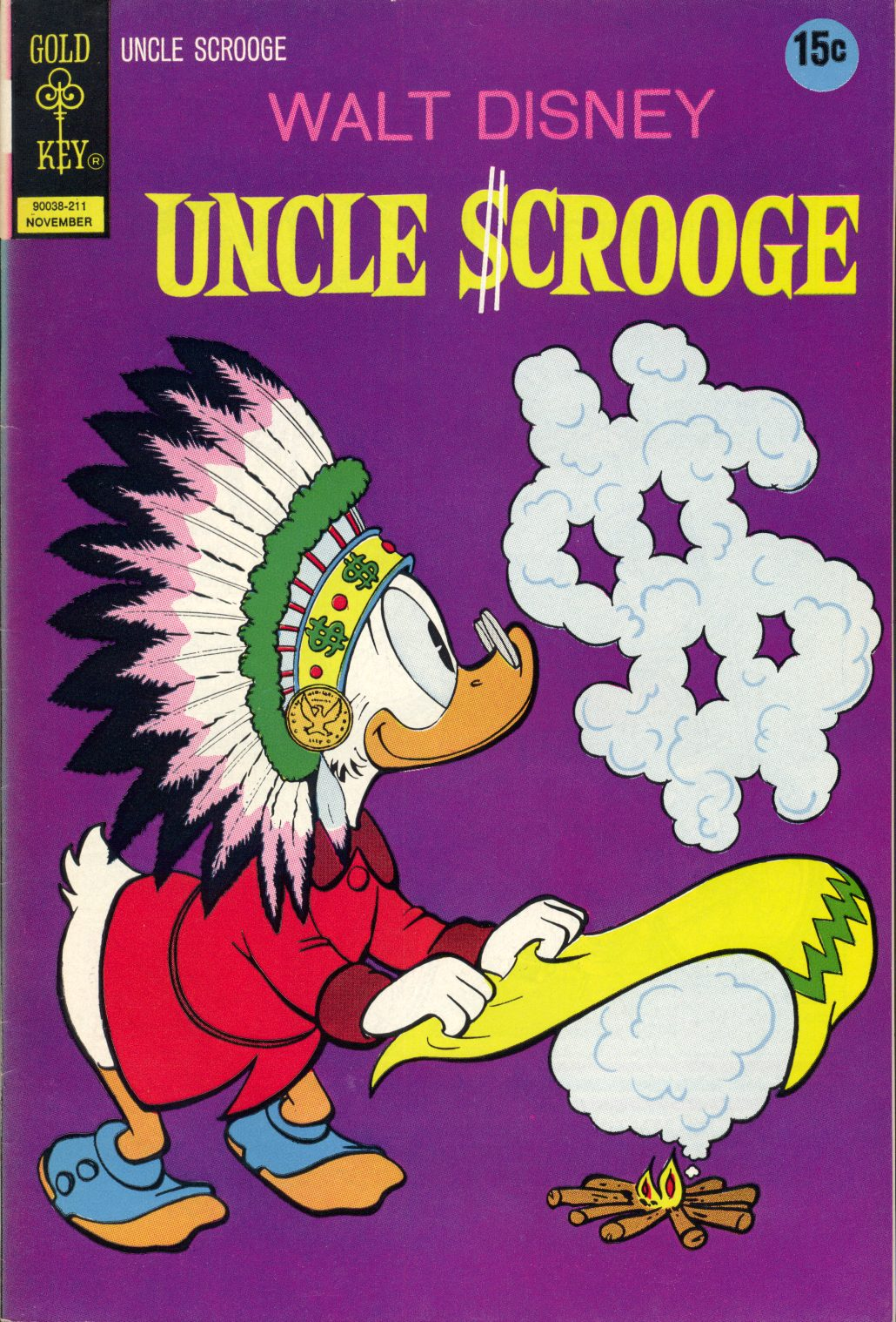 Read online Uncle Scrooge (1953) comic -  Issue #102 - 1
