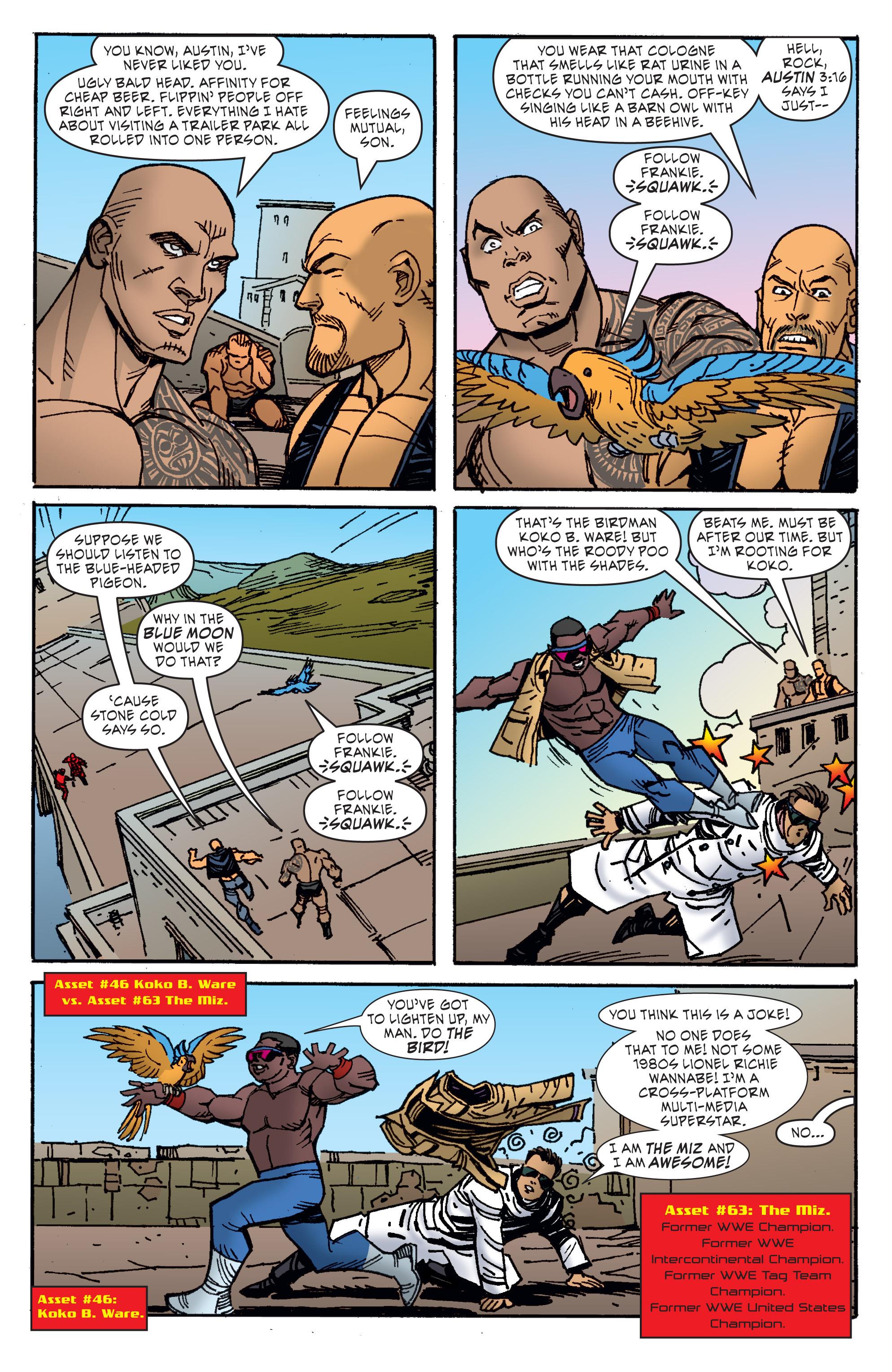 Read online WWE Superstars comic -  Issue #11 - 12