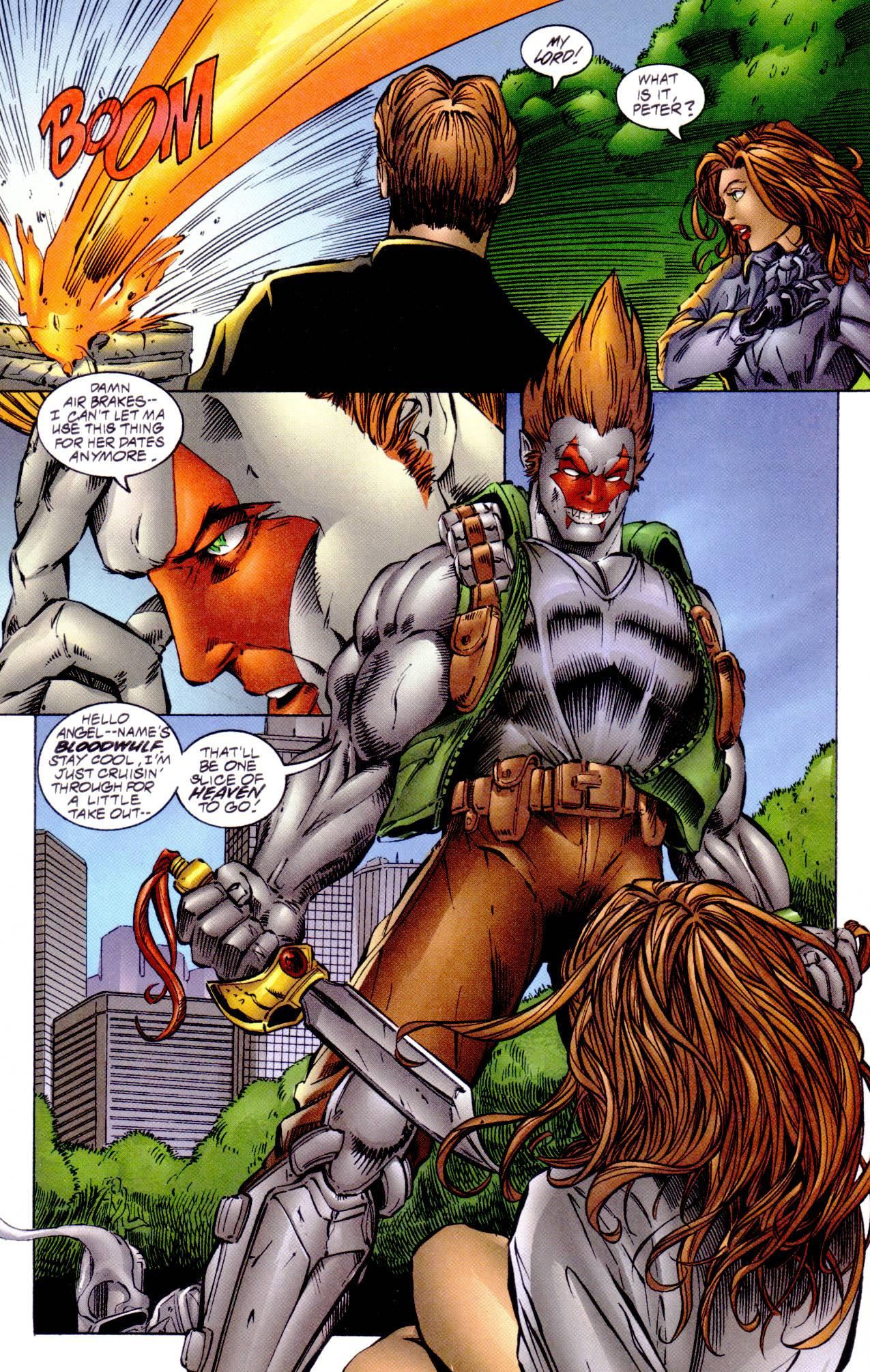 Read online Avengelyne (1996) comic -  Issue #14 - 8