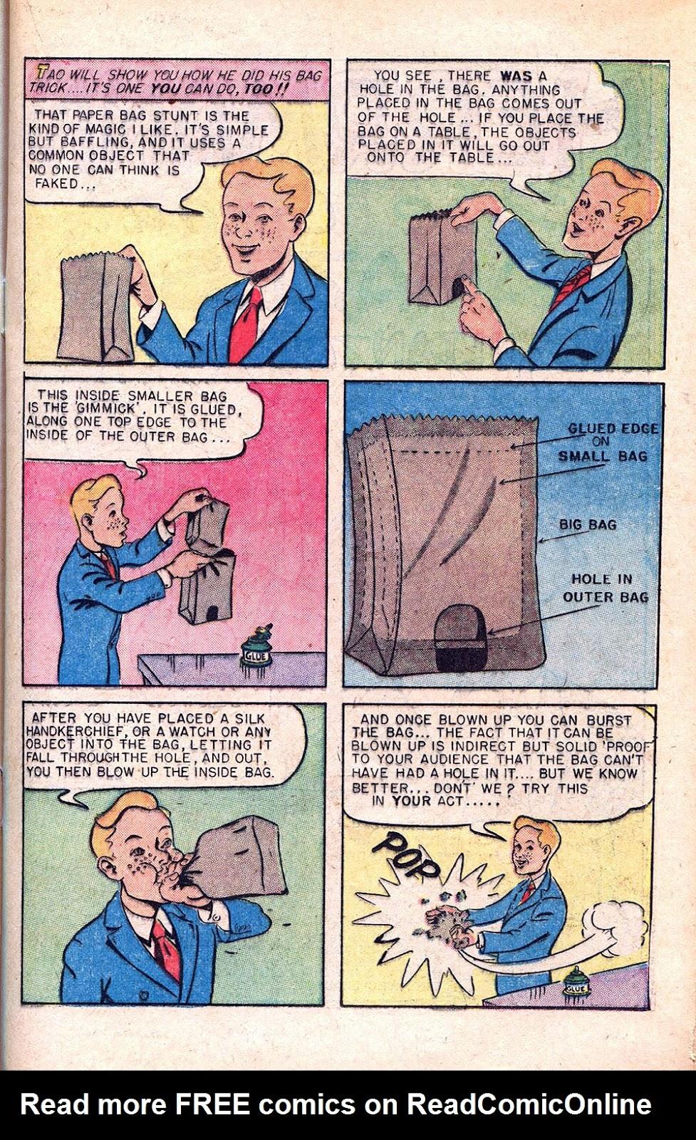 Read online Super-Magician Comics comic -  Issue #55 - 23