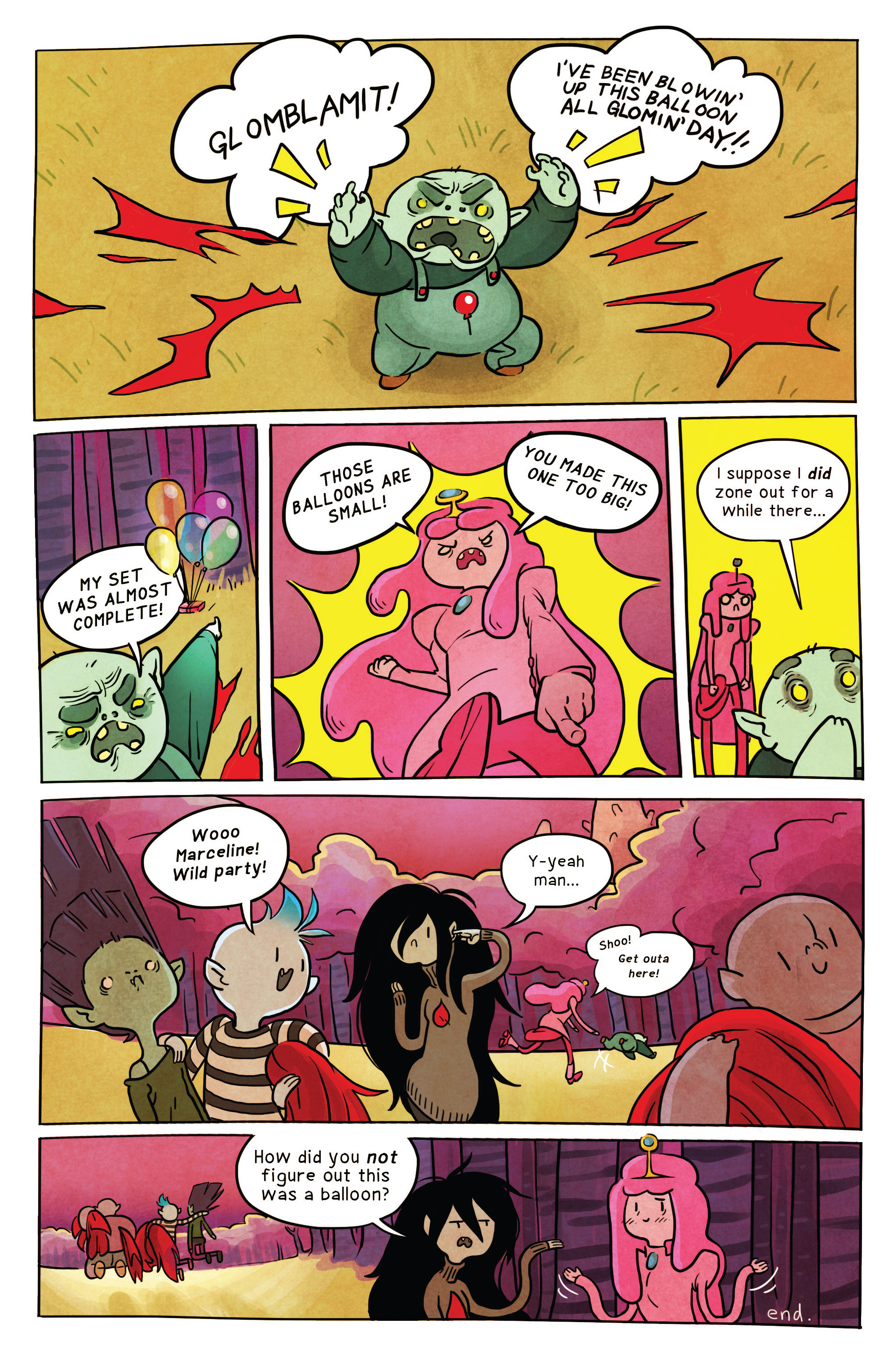 Read online Adventure Time comic -  Issue #34 - 23