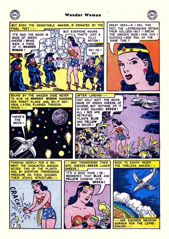 Read online Wonder Woman (1942) comic -  Issue #59 - 21