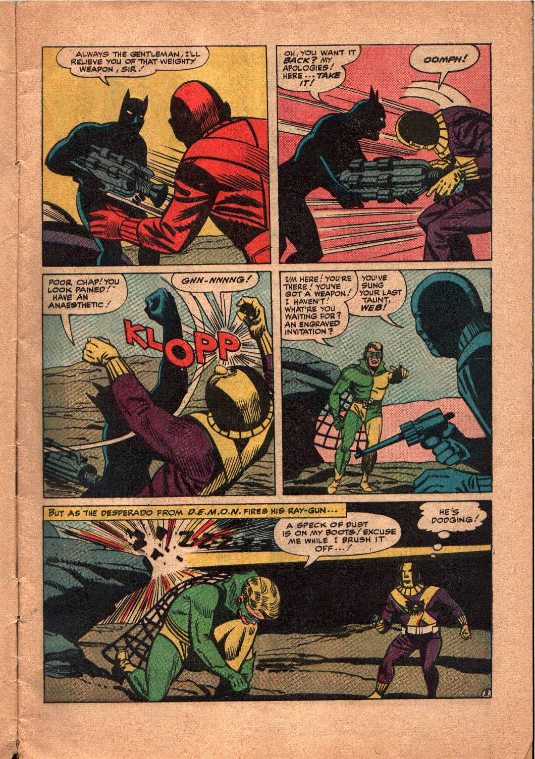 The Mighty Crusaders (1965) Issue #5 #5 - English 4