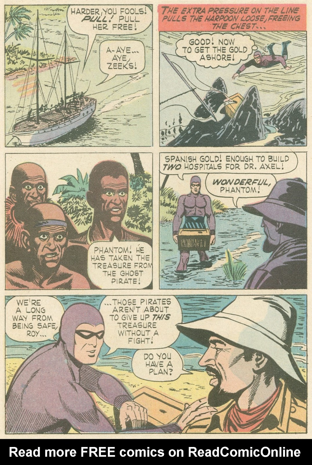 The Phantom (1966) issue 21 - Page 9